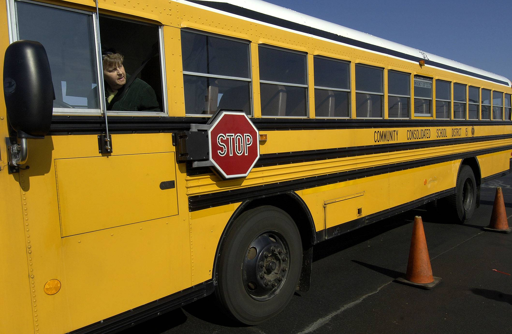 Palatine Township Elementary District 15 will install GPS technology onto its fleet of school buses in time for the start of the next school year. The technology will allow parents to track their children's buses from home.