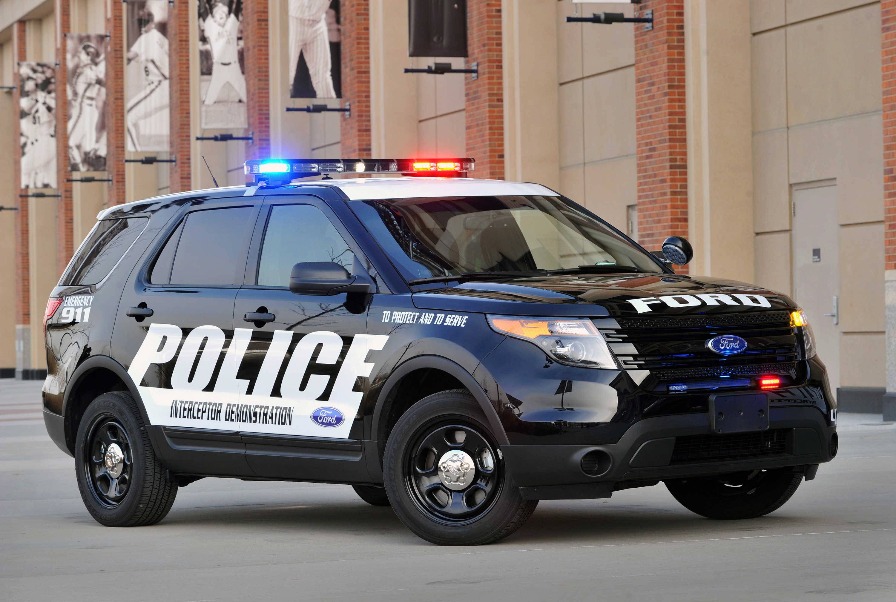 The new Ford Explorer Interceptor SUV is built for law enforcement. Elgin will purchase 10 similar to this one.