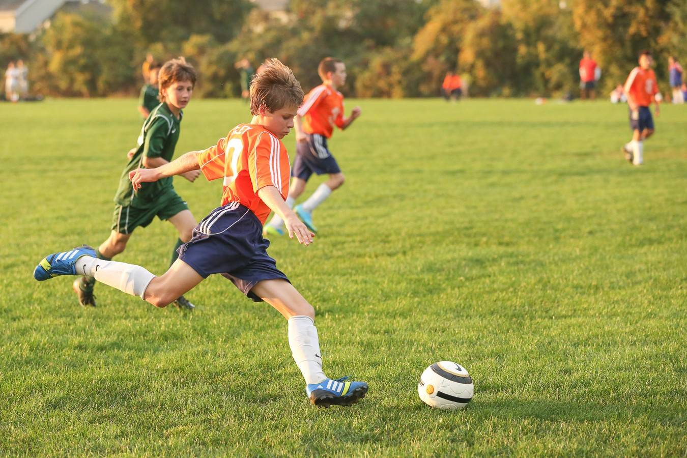 Ethan Conley, 13, of Carol Stream, is one of 12 Chicago-area youth soccer players chosen from a field of 480 at a camp in Schaumburg last summer who will be traveling to Barcelona this month for the FC Barcelona Escala International Tournament.