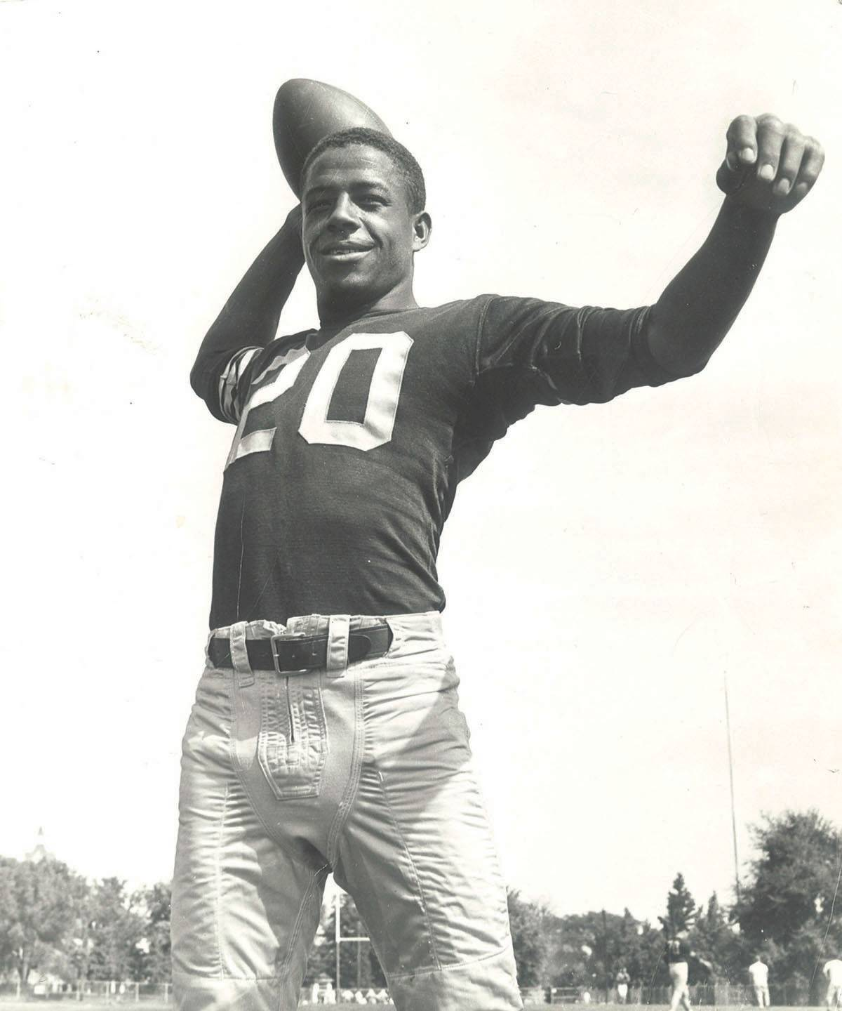 Having to blaze his own trails, William R. Norwood became the first African-American to start at quarterback for Southern Illinois University. Getting some coaching from the friendly graduating quarterback, Norwood built a career that landed him in the school's Hall of Fame.