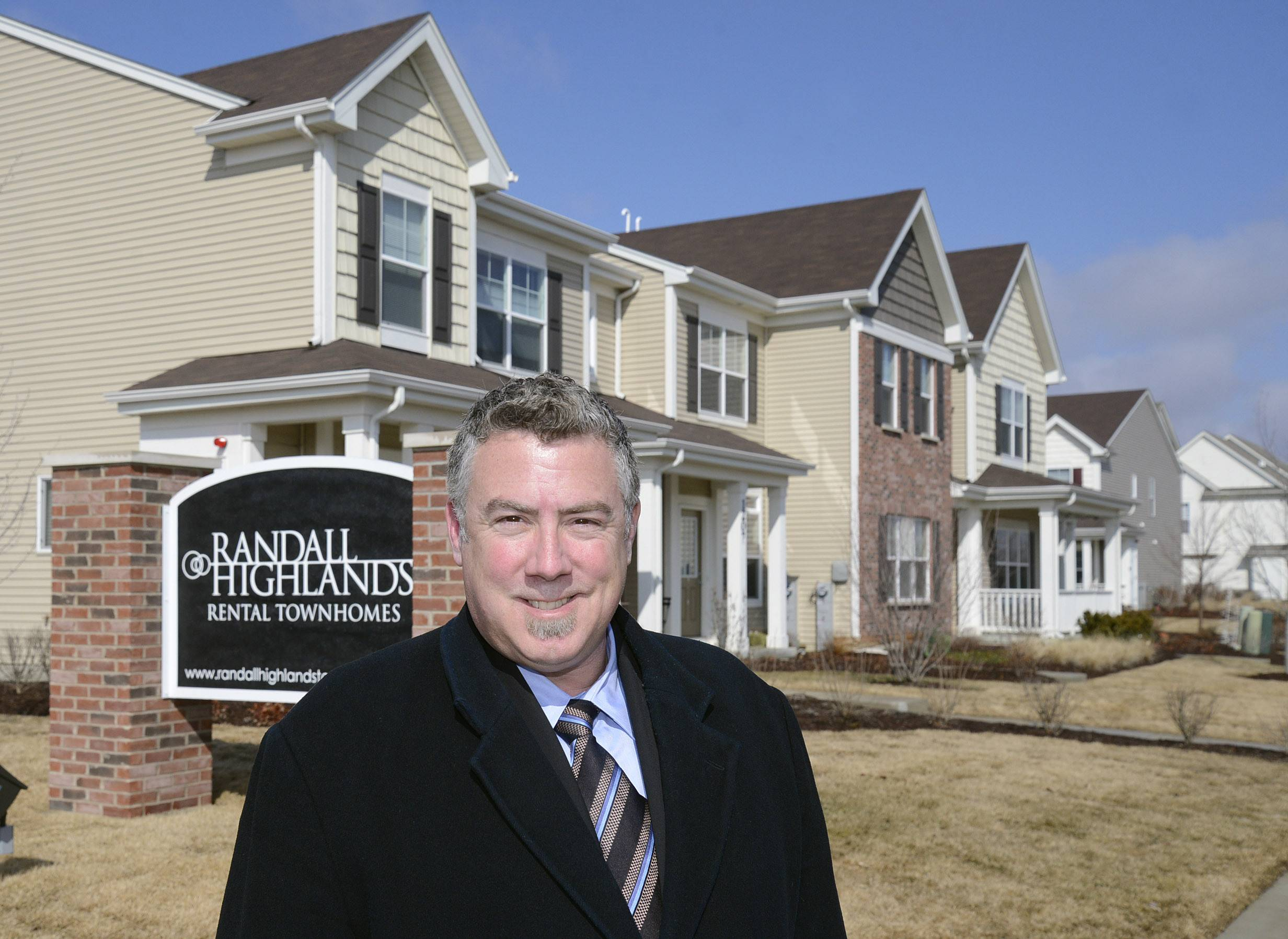 Jeff Prosapio, director of project management for Marquette Companies of Naperville, says the Randall Highlands apartment community in North Aurora is one of the company's recent development efforts that completed a stalled project another developer couldn't finish.