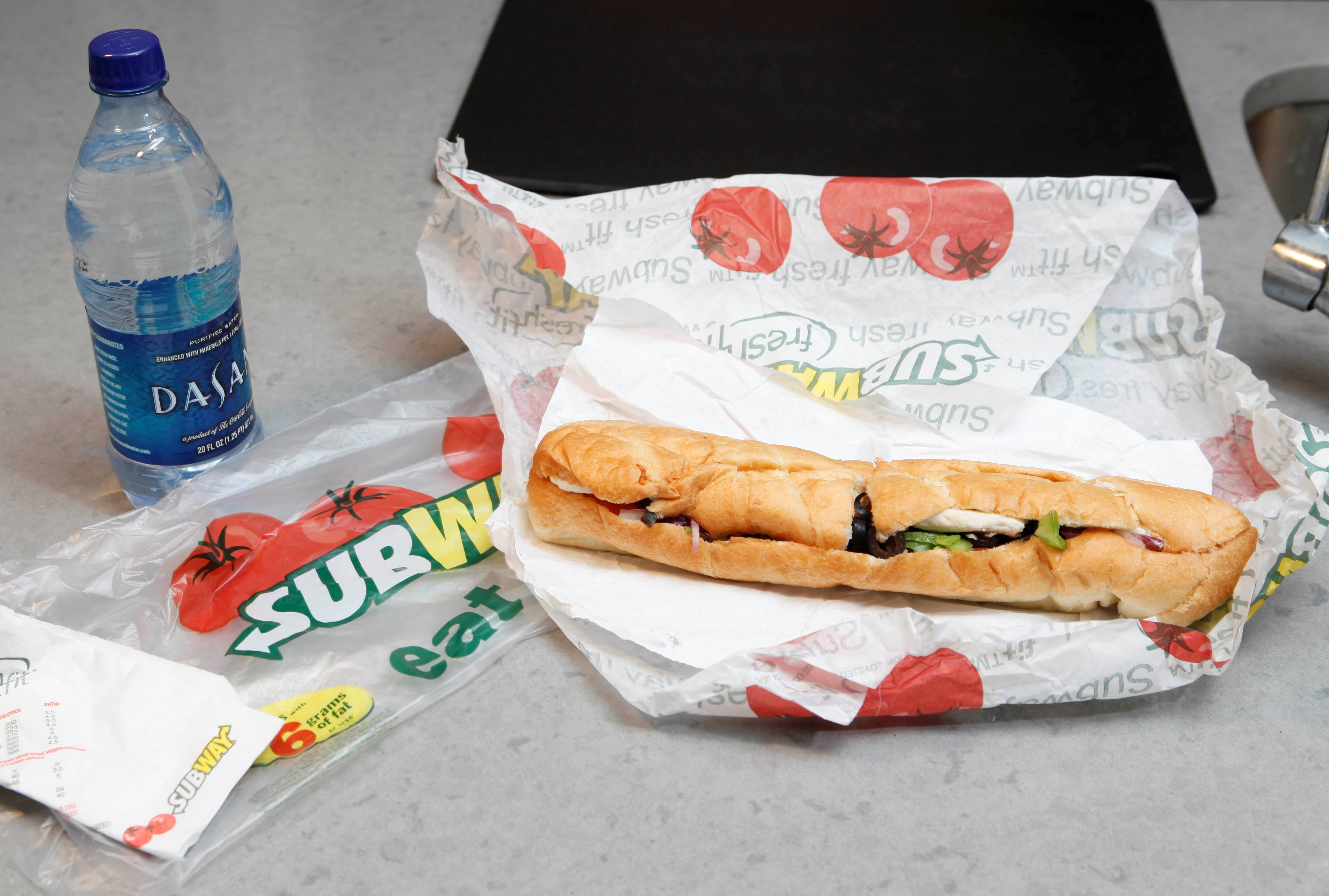 "Subway says an ingredient dubbed the ""yoga mat"" chemical will be entirely phased out of its bread by the week of April 14, 2014. The disclosure comes as Subway has suffered from an onslaught of bad publicity since a food blogger petitioned the chain to remove the ingredient."