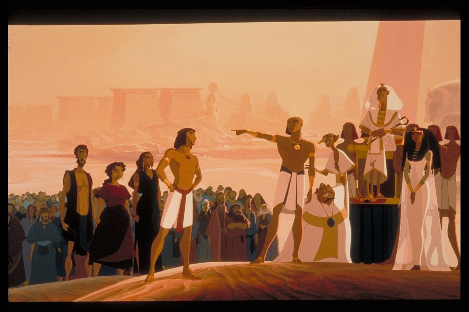 "The animated ""Prince of Egypt"" gave the story of Exodus a musical spin."
