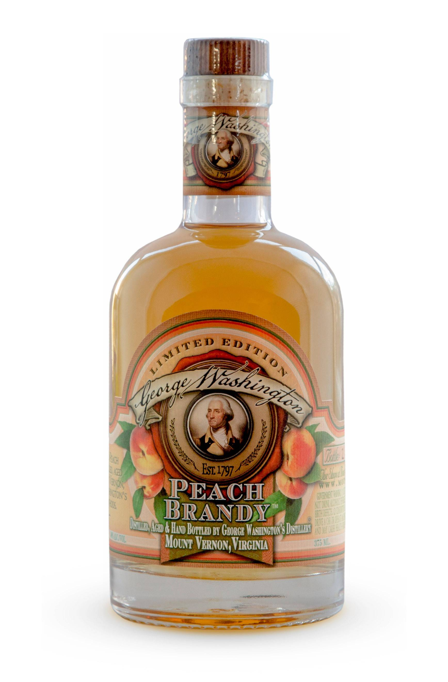 Peach brandy from George Washington's reconstructed distillery at Mount Vernon is like nothing you've ever tasted before.