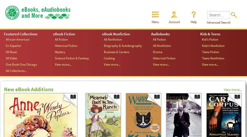 The Chicago Public Library is launching redesigned online services, including a new website and improved library catalog.