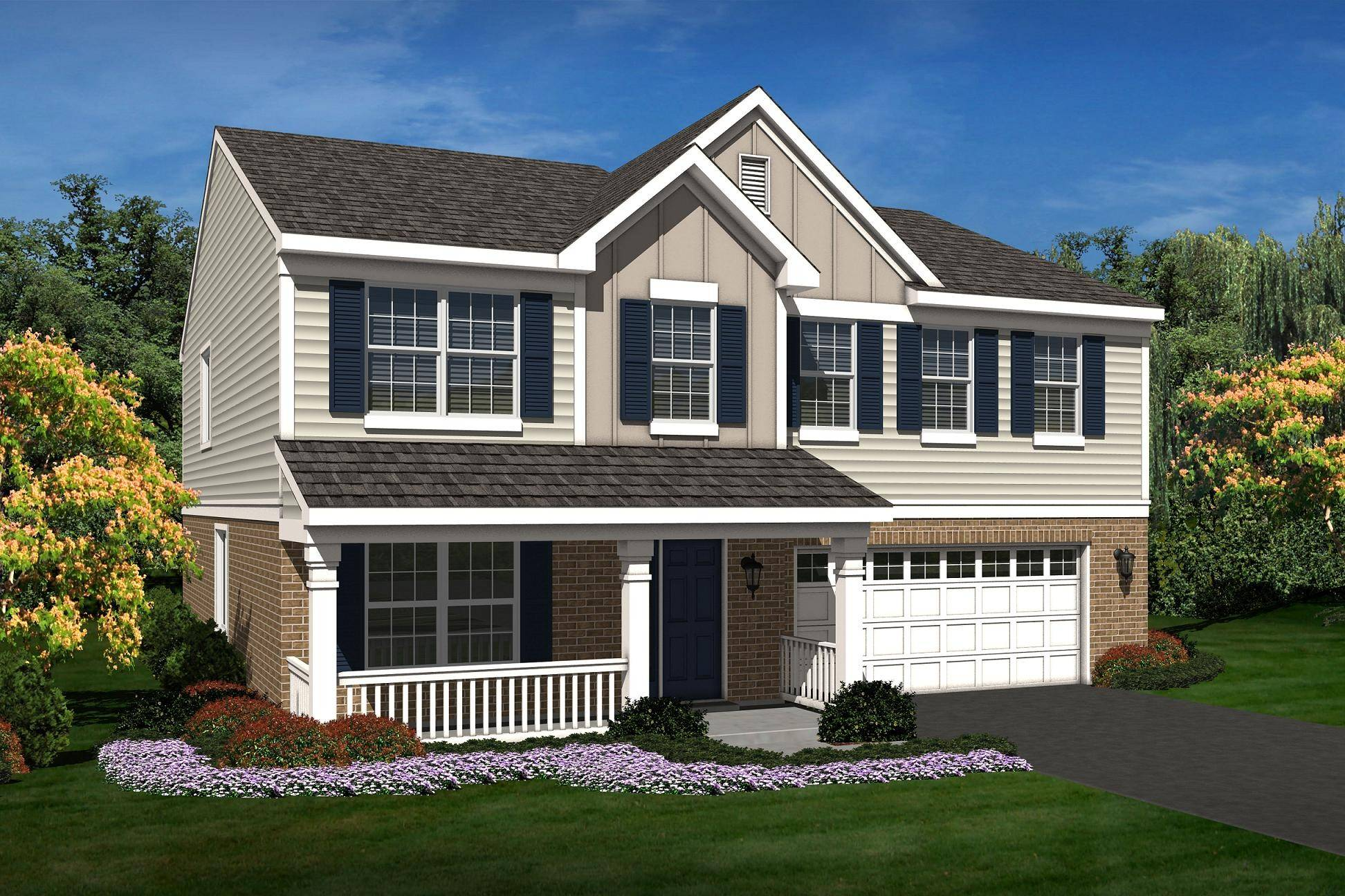 The Arlington model is offered at Heather Glen in New Lenox, one of nine D.R. Horton communities under construction in the Chicago area.