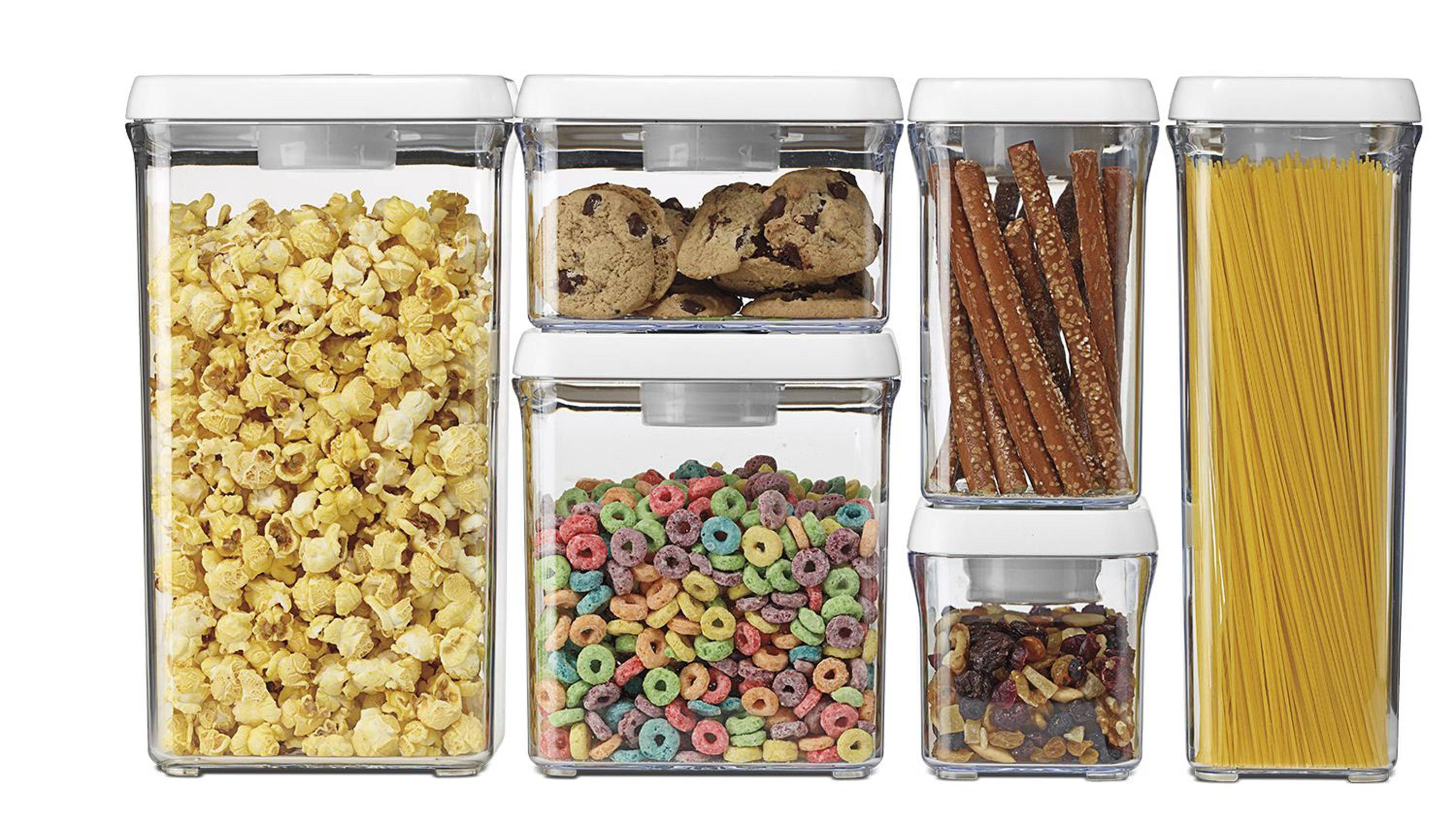 When you buy in bulk, you'll need plastic storage containers with airtight sealable lids.