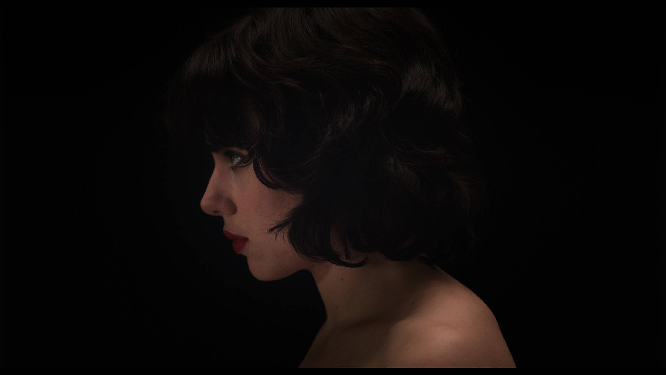"Scarlett Johansson stars in ""Under the Skin,"" a film which she says taught her more about herself."