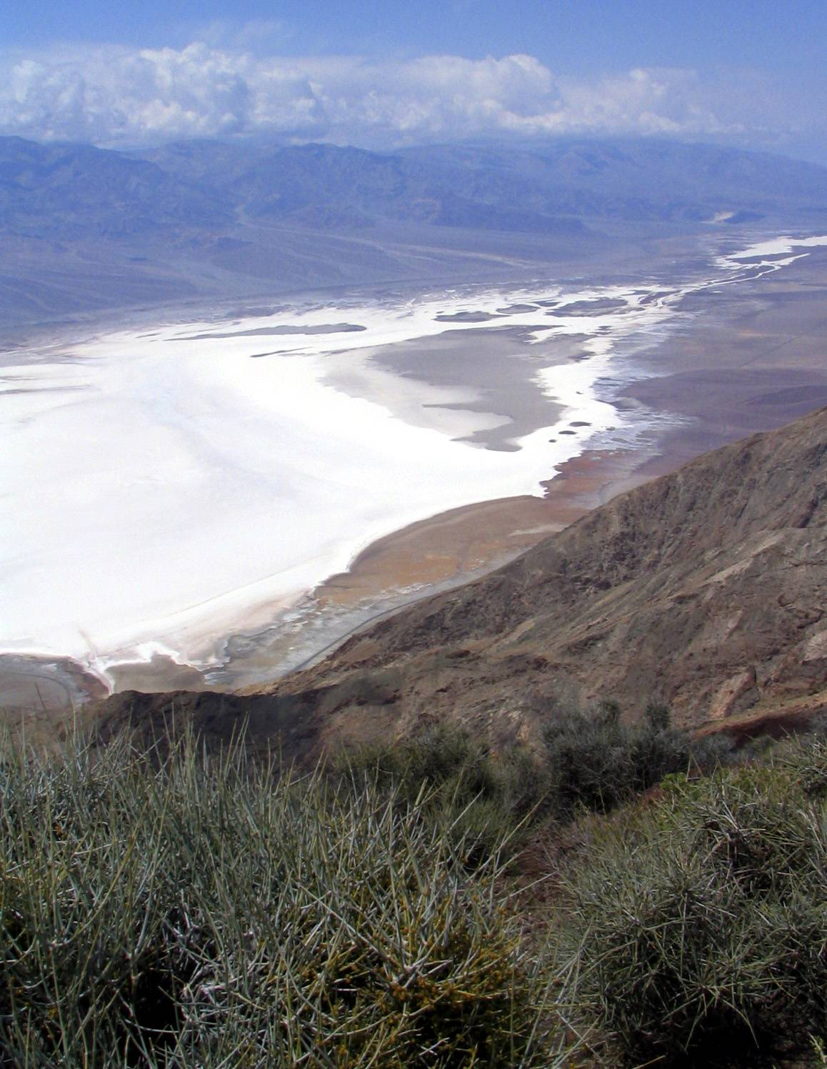 Dantes View overlook is one of the most popular views of Death Valley, Calif.