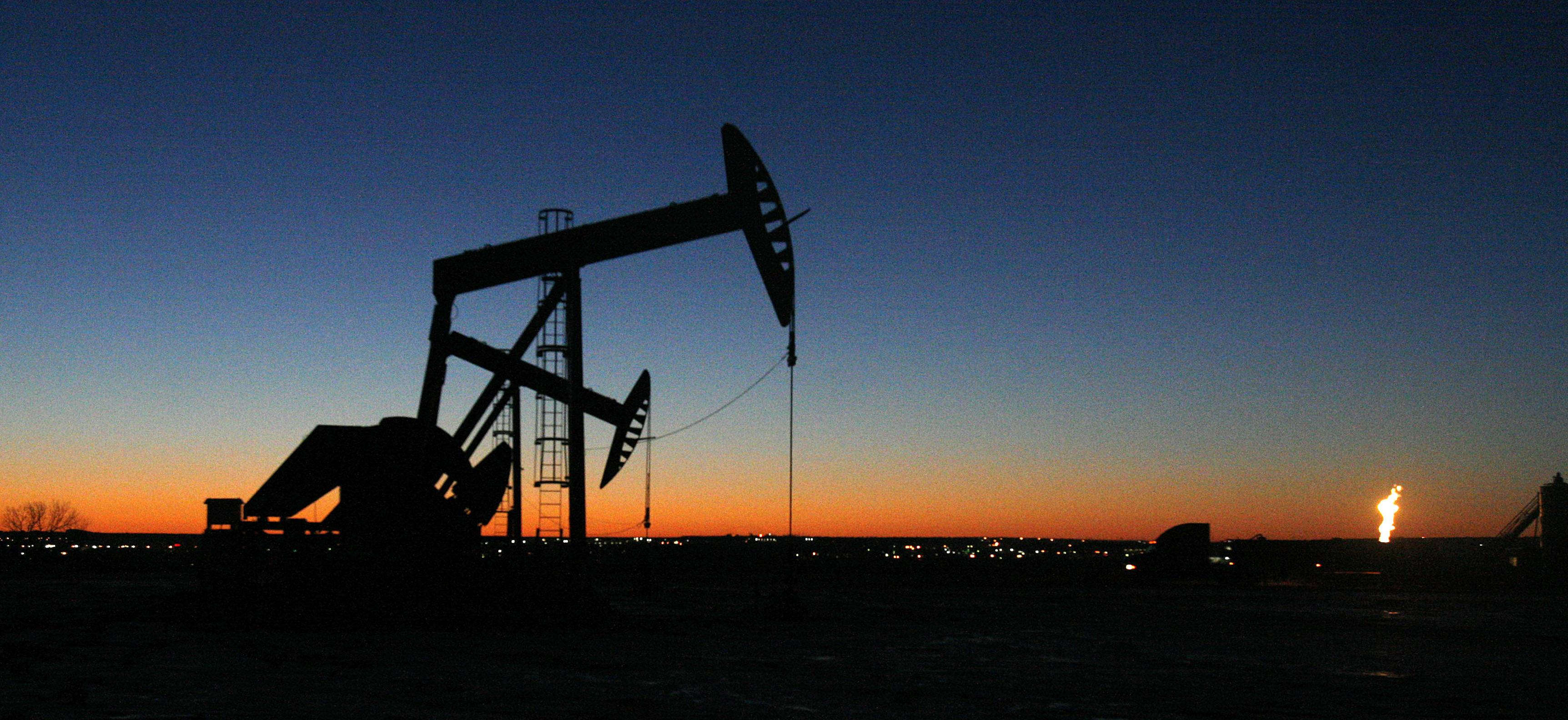 Benchmark U.S. crude for May delivery was up 69 cents at $104.43 a barrel at 0813 GMT in electronic trading on the New York Mercantile Exchange. The contract rose 34 cents Friday to close at close at $103.74.