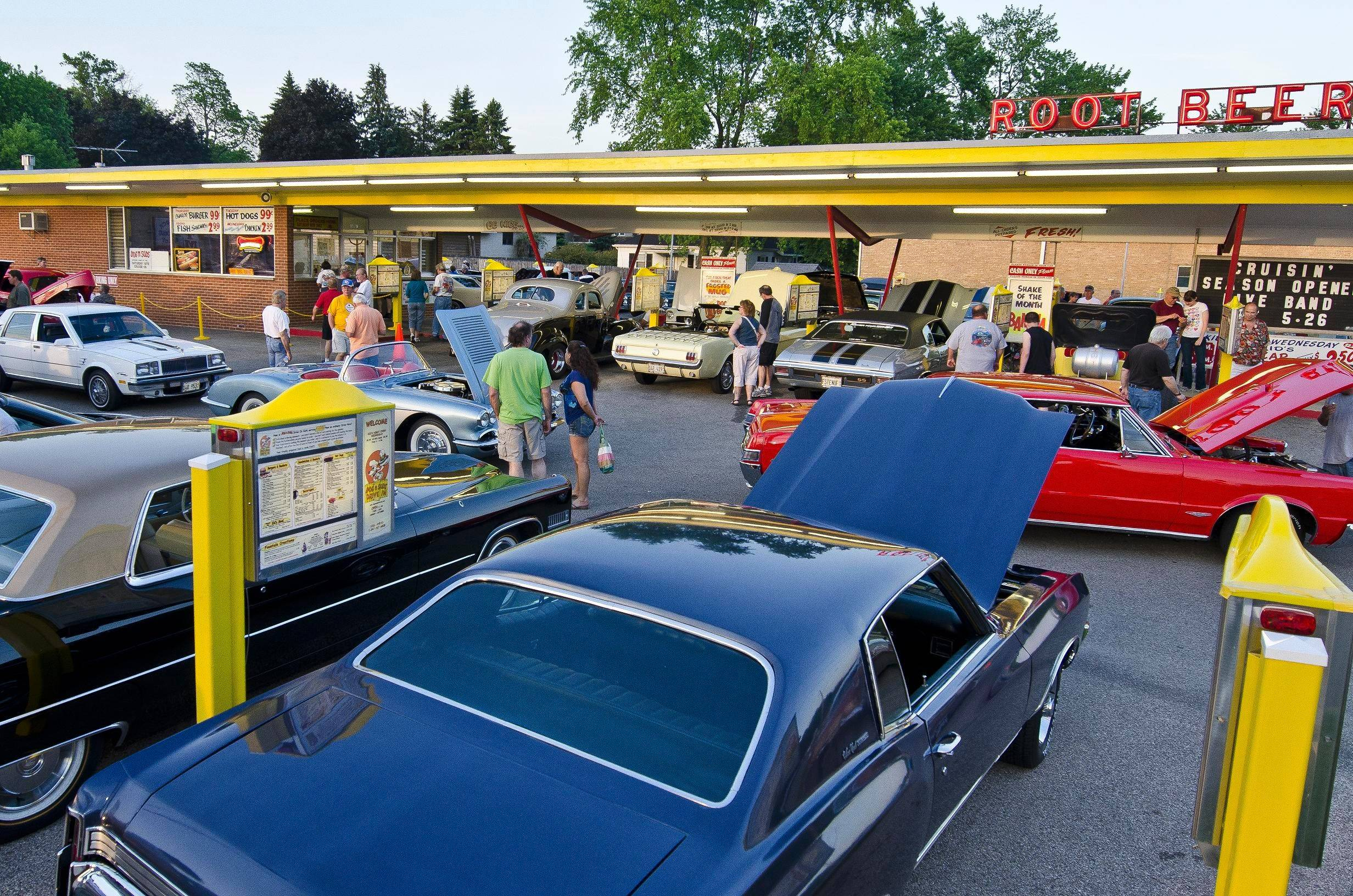 Miller's Dog 'N Suds drive-in in Ingleside hosts a '50s-style cruise night on Saturdays during warmer months, starting May 24.
