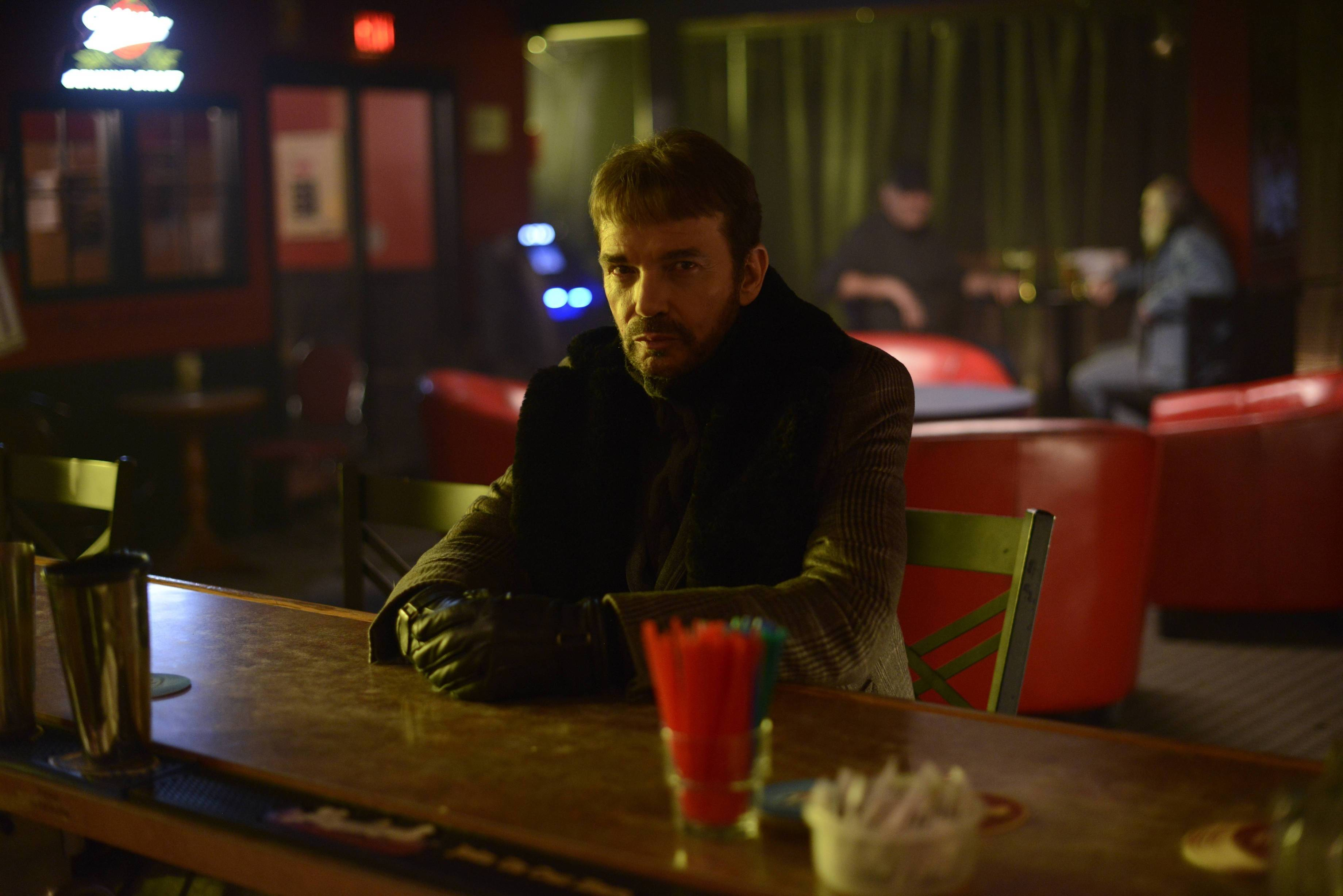 "Billy Bob Thornton stars as a ruthless drifter in ""Fargo,"" a 10-episode FX series based on the Coen brothers' movie."