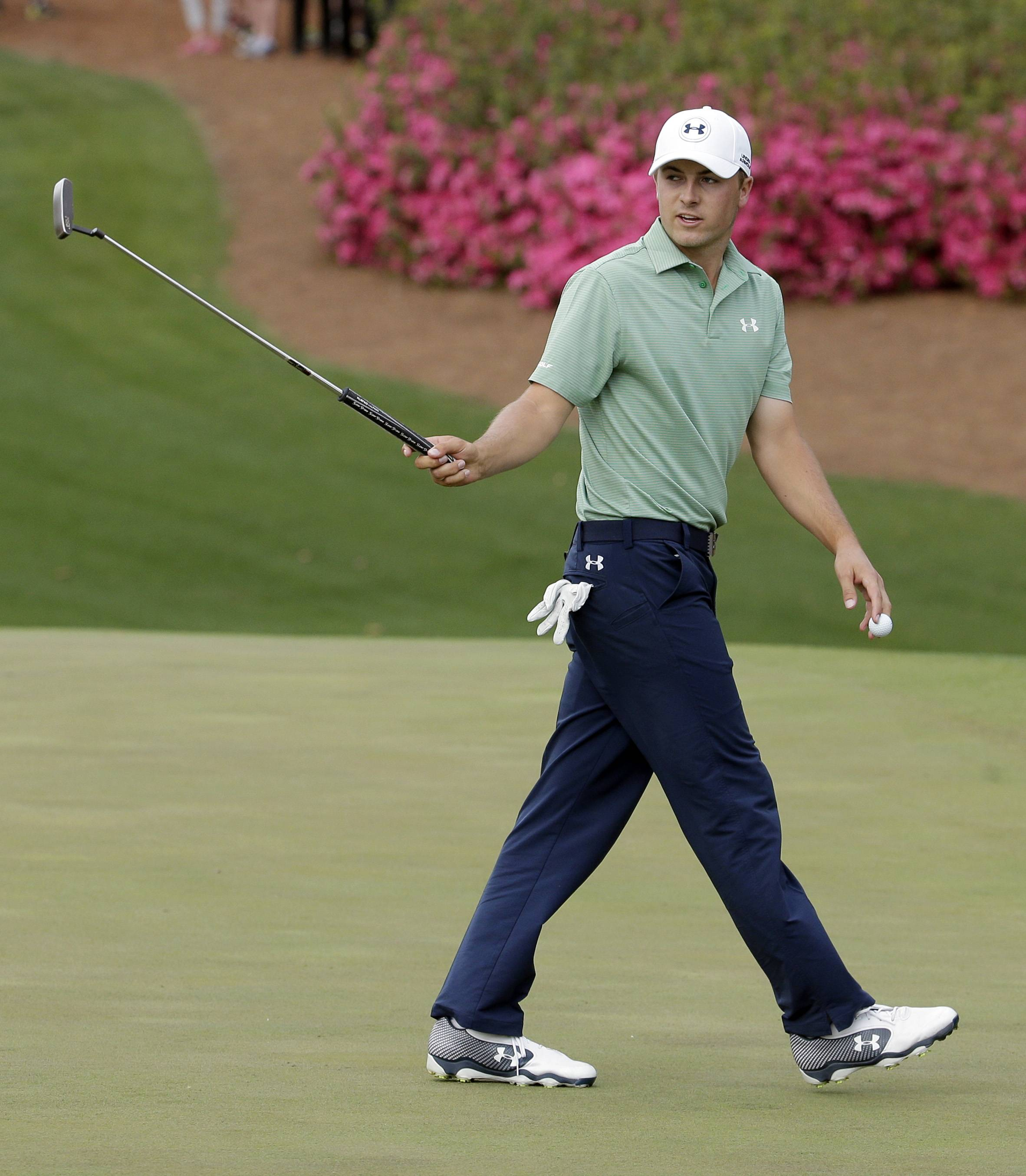 Jordan Spieth made a run Sunday at the Masters, displaying guts on the course that is unfathomable for someone his age.