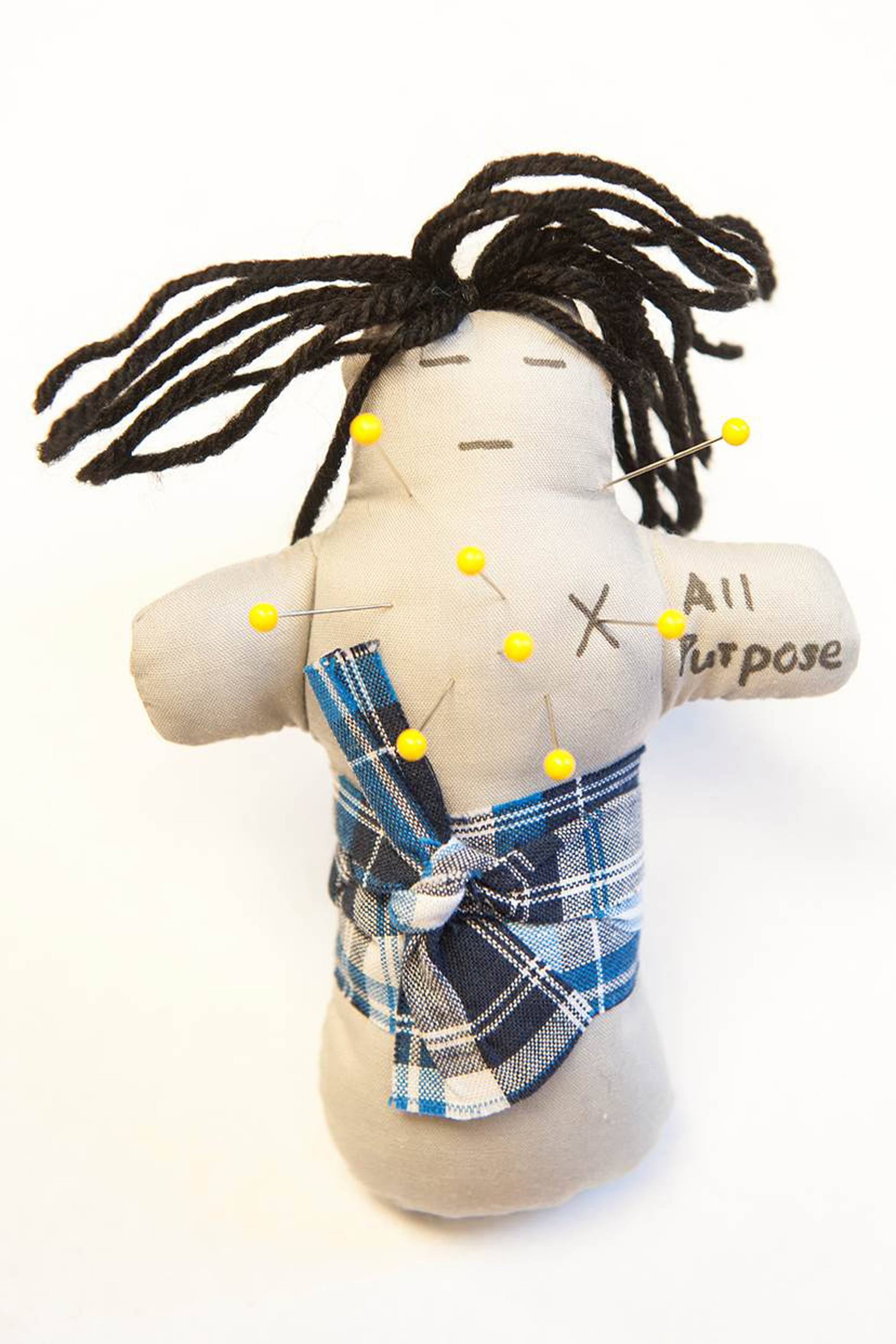 You may not need this all-purpose voodoo doll if you down a quick candy bar to prevent a fight with your spouse.