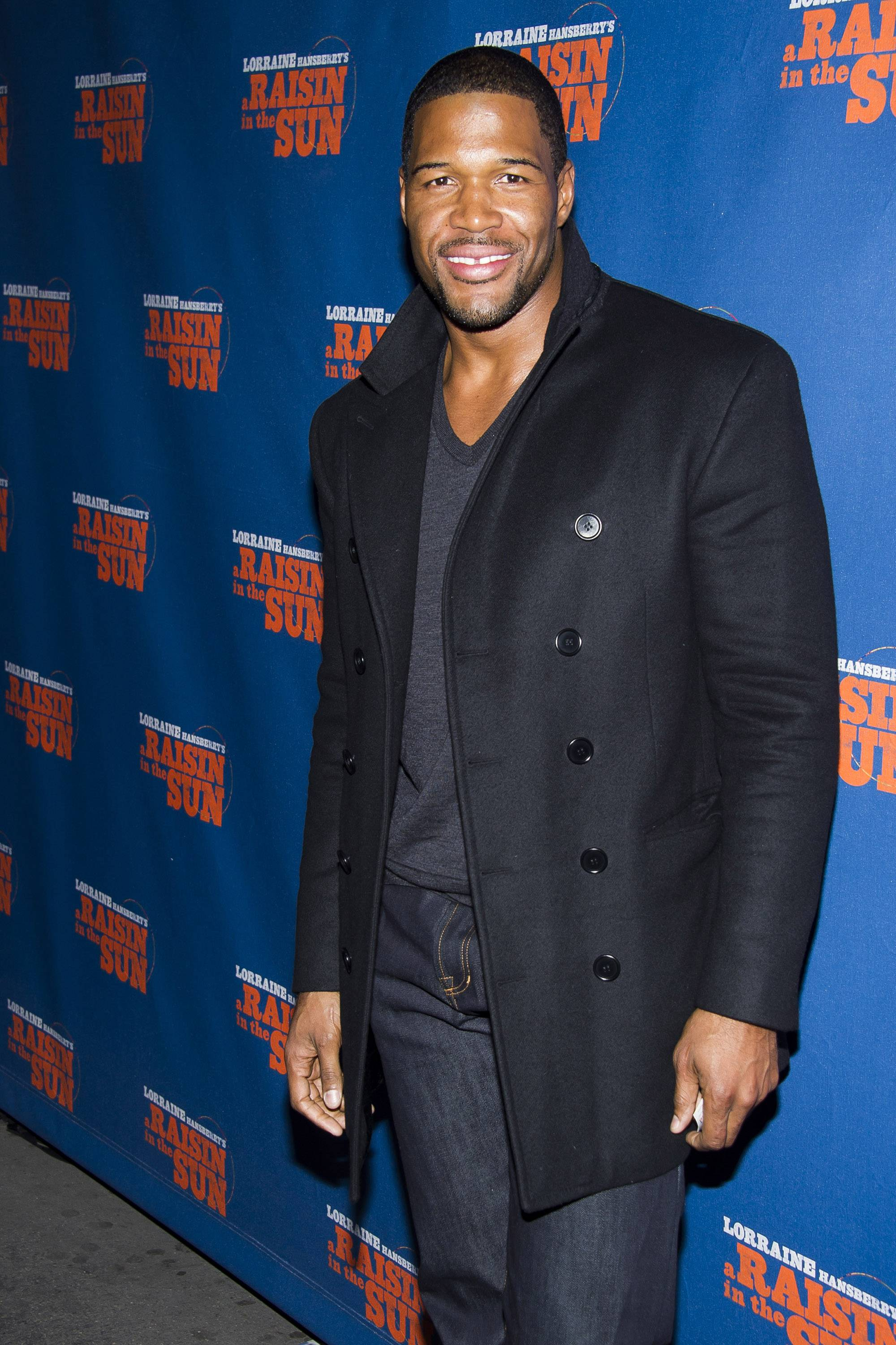 "Michael Strahan has made good on reports that he is joining ""Good Morning America"" by paying a visit to the ABC breakfast show on Tuesday."