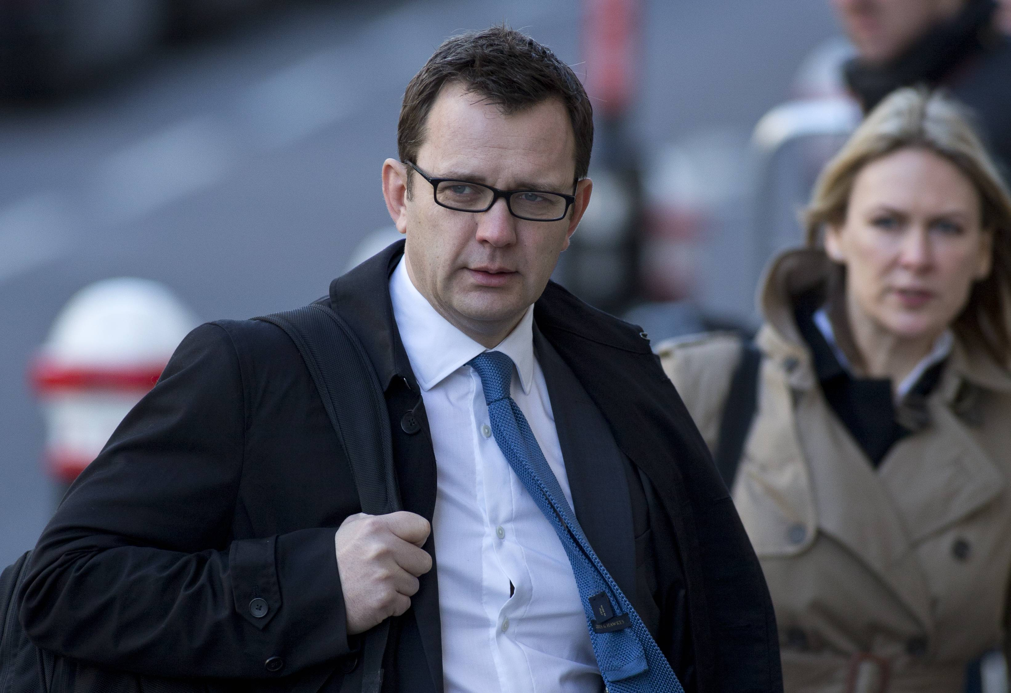 Andy Coulson, former News of the World editor and former aide to British Prime Minister David Cameron, said under oath Tuesday that he was never involved in phone hacking when he was the editor of a Rupert Murdoch-owned tabloid.