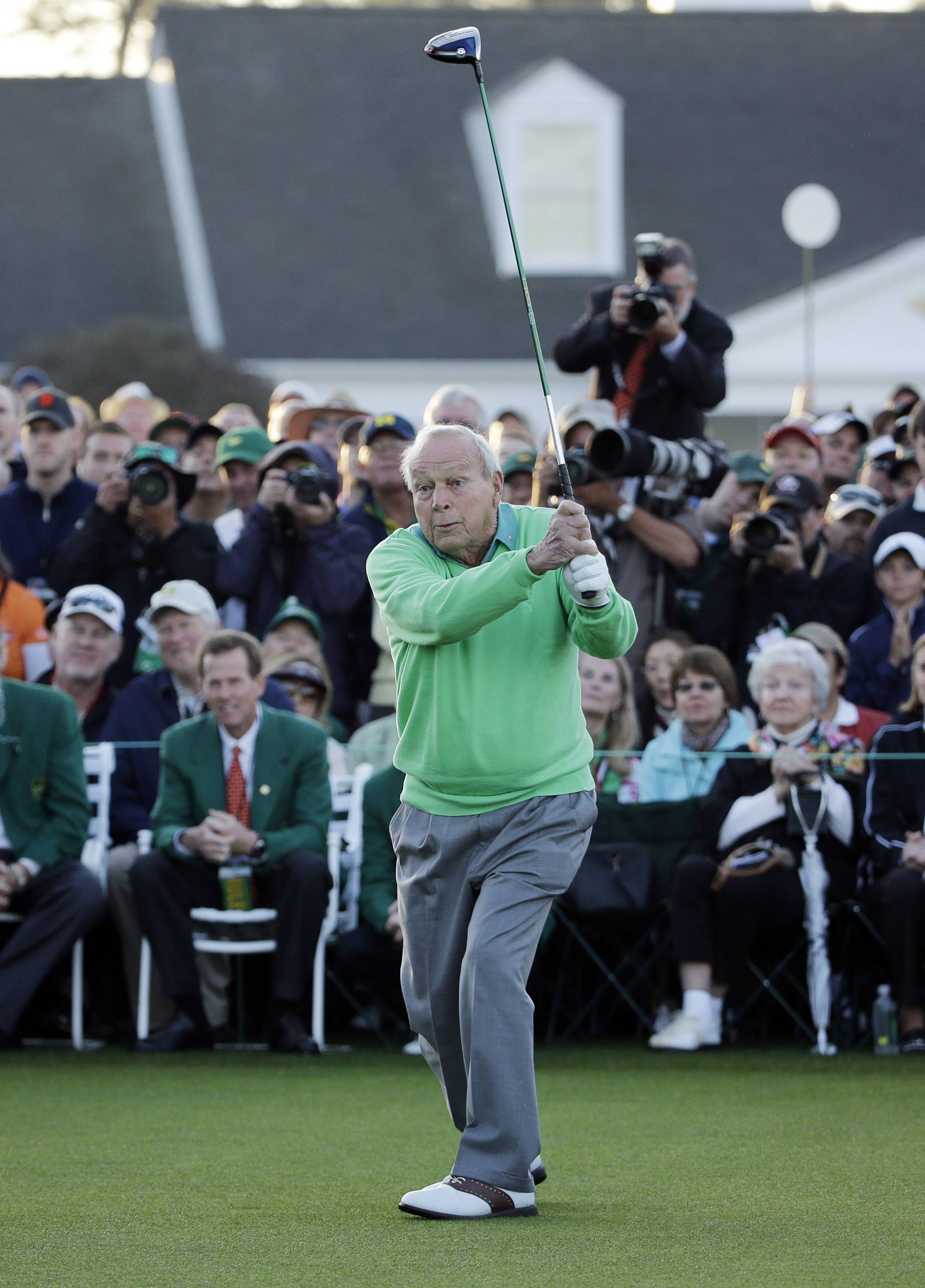 Now 84 years old, Arnold Palmer still commands attention whenever he steps on a golf course, as he did at last week's Masters Tournament at Augusta National.