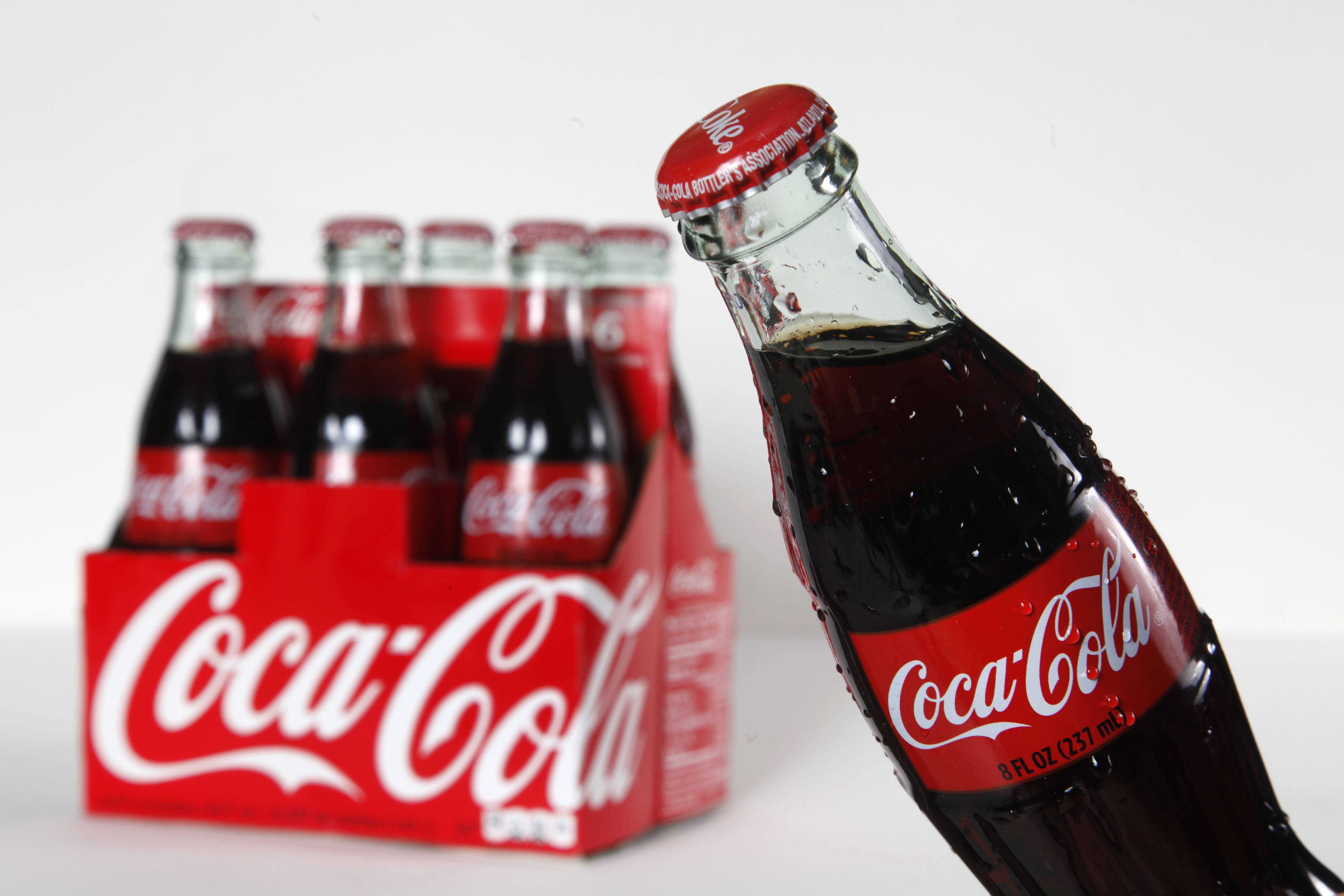 Coca-Cola sold more drinks in the first quarter, but it wasn't because of soda. The world's biggest beverage maker said Tuesday that its global sales volume for soda fell for first time in at least a decade. The drop was offset by stronger sales of noncarbonated drinks such as juice, and overall volume rose 2 percent.