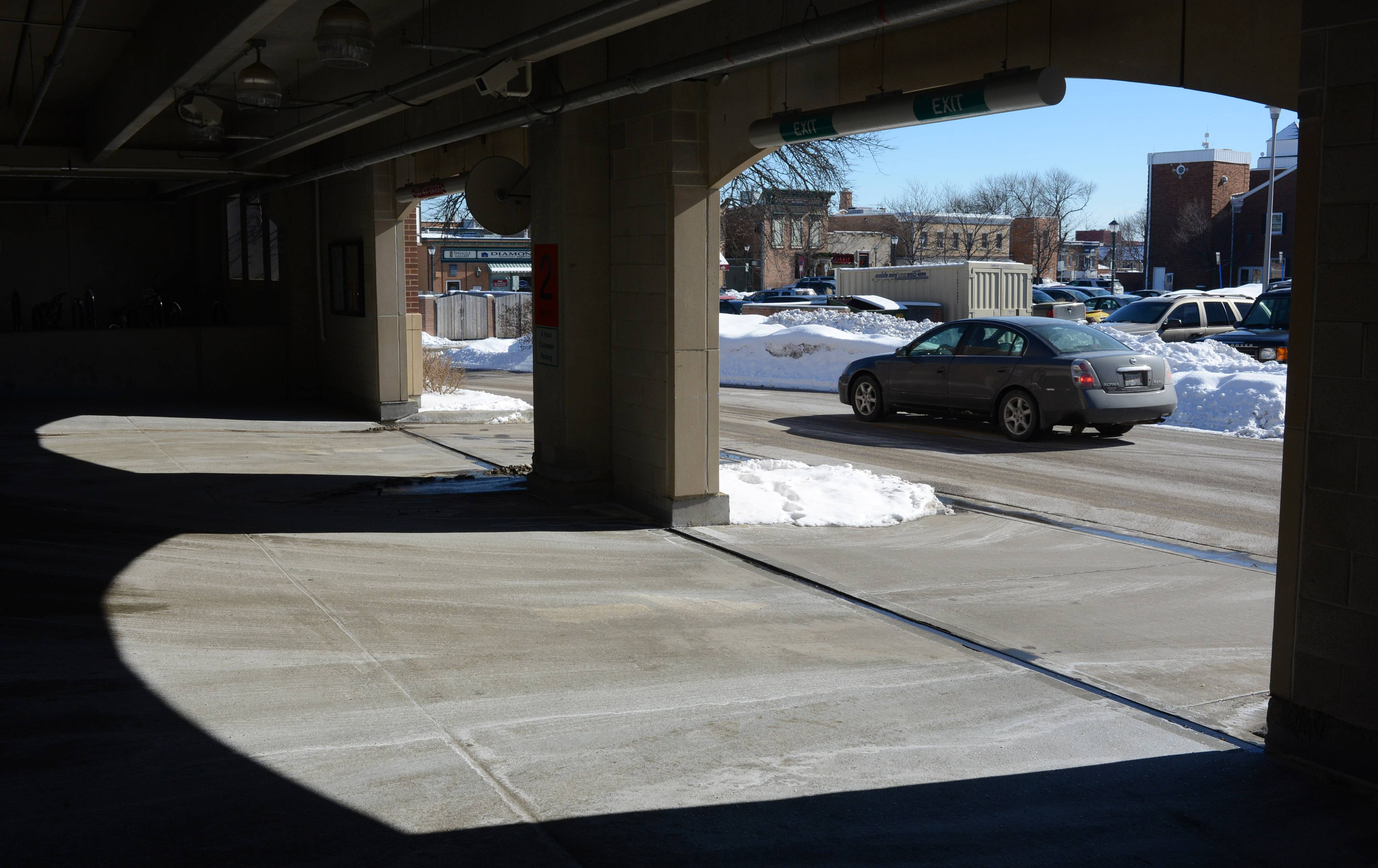 Adding another level to the parking garage on the west side of Milwaukee Avenue is being considered to provide more spaces in downtown Libertyville.