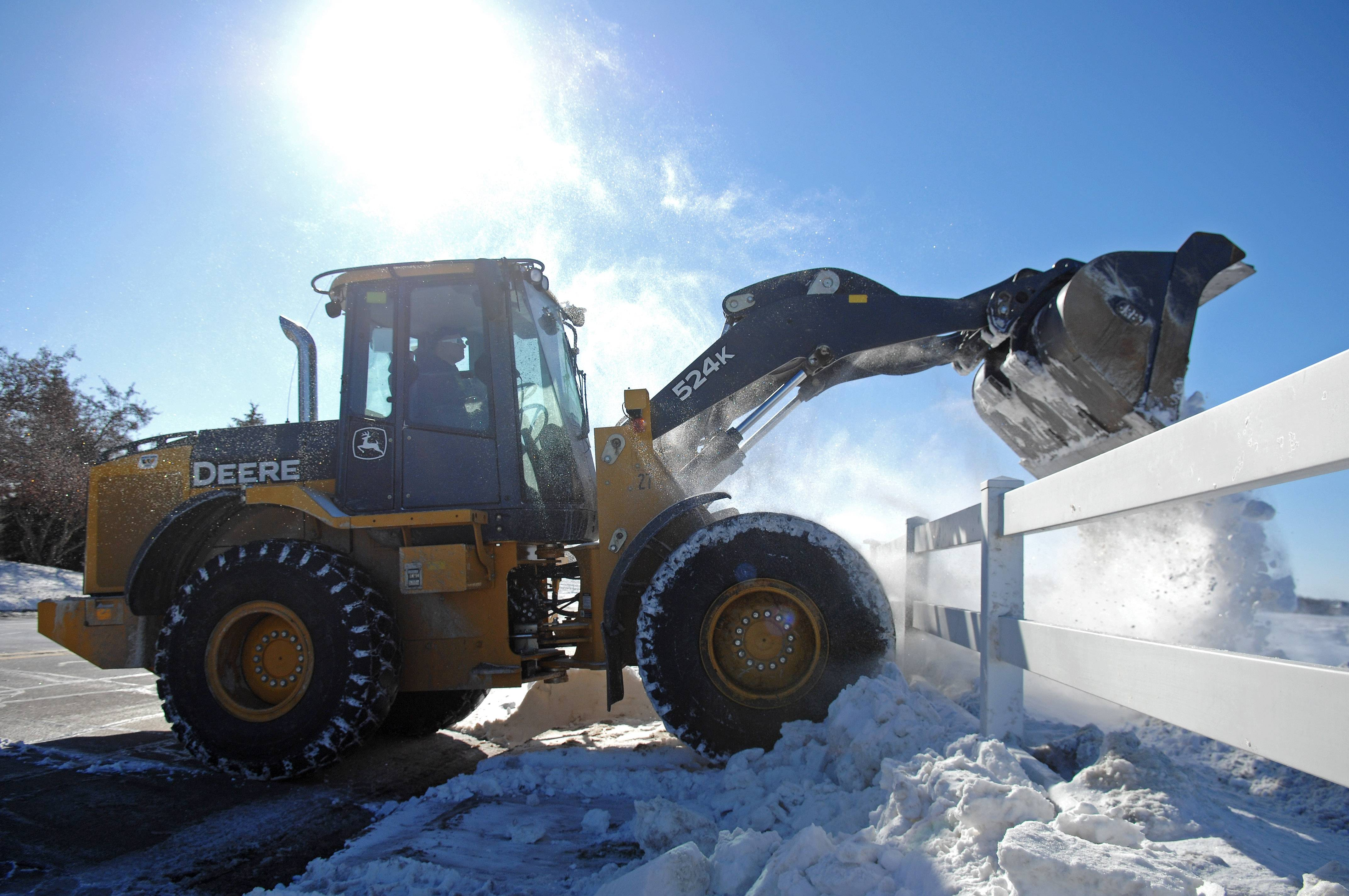 Winter blows Batavia snow removal budget for 2014