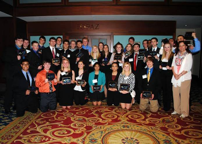 At the recent 65th Annual FBLA State Competition, 32 Wauconda High School FBLA Chapter members qualified for national competition in Nashville.