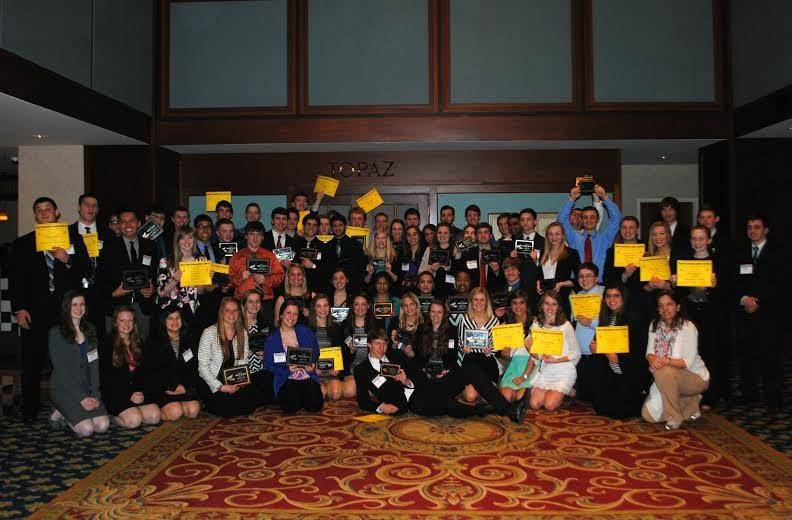 The Wauconda High School FBLA Chapter took a first place Outstanding Chapter Award among several other accolades at the recent state competition.