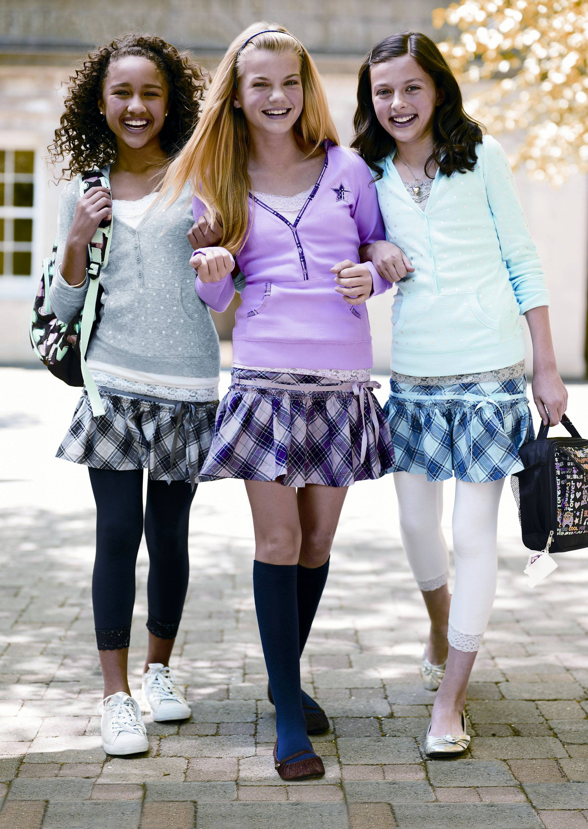 Some schools have banned leggings outright. Others have set limits. Haven Middle School in Evanston took what turned out to be a contentious stand: If you wear leggings, you need to have a shirt or skirt over them that reaches at least down to your fingertips.