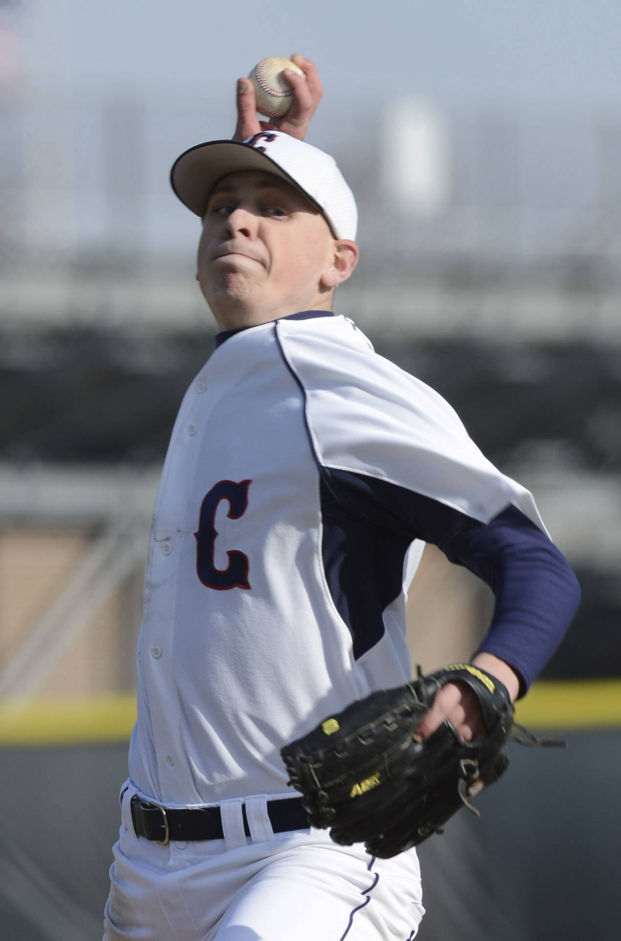 Conant pitcher Mike Matej delivers against visiting Fremd on Wednesday.
