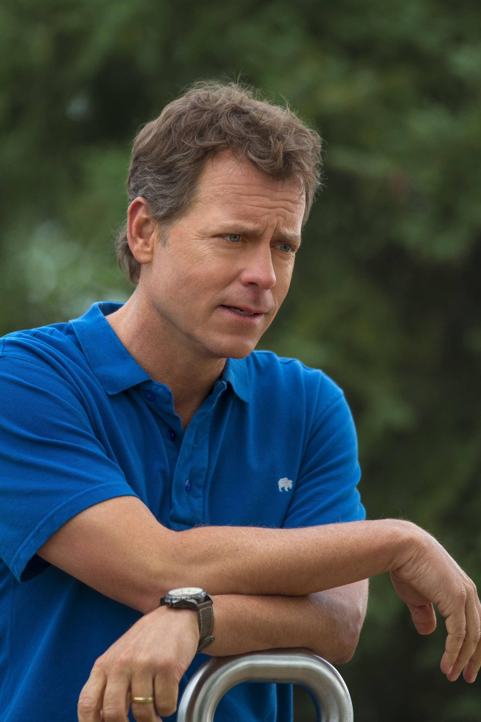 "Greg Kinnear, star of the new faith-based drama ""Heaven is for Real,"" is enjoying a year of diverse acting challenges."