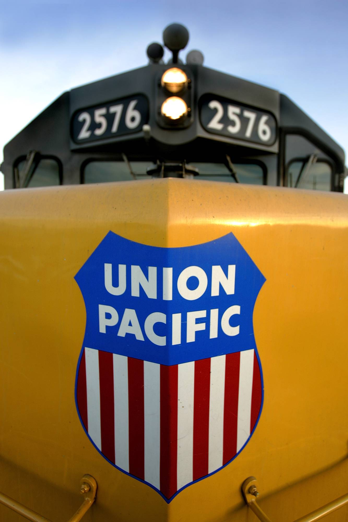The harsh winter didn't keep Union Pacific railroad from delivering 14 percent higher quarterly profit as it hauled more agricultural, industrial and coal shipments.