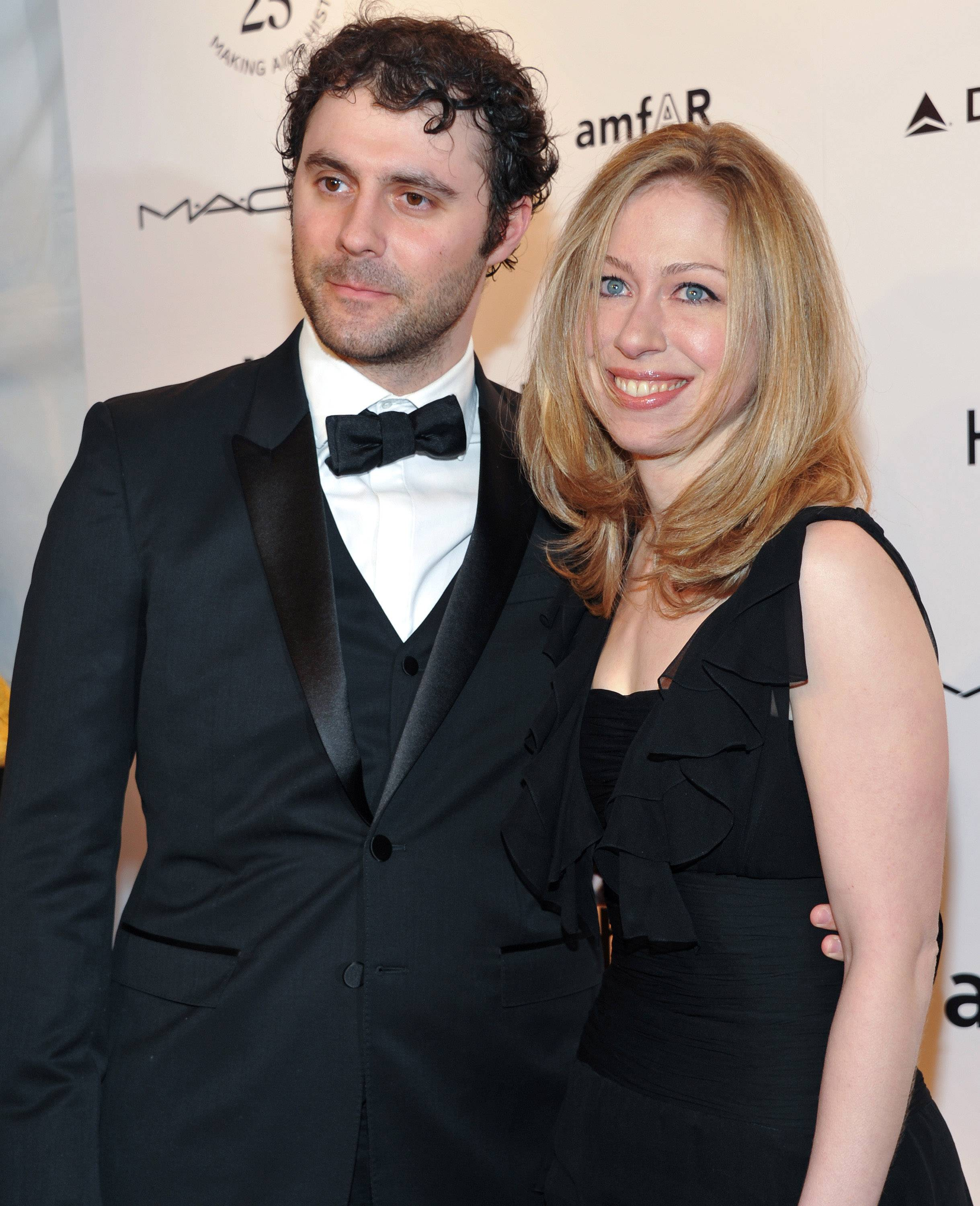 Chelsea Clinton and her husband, Marc Mezvinsky, in 2011.