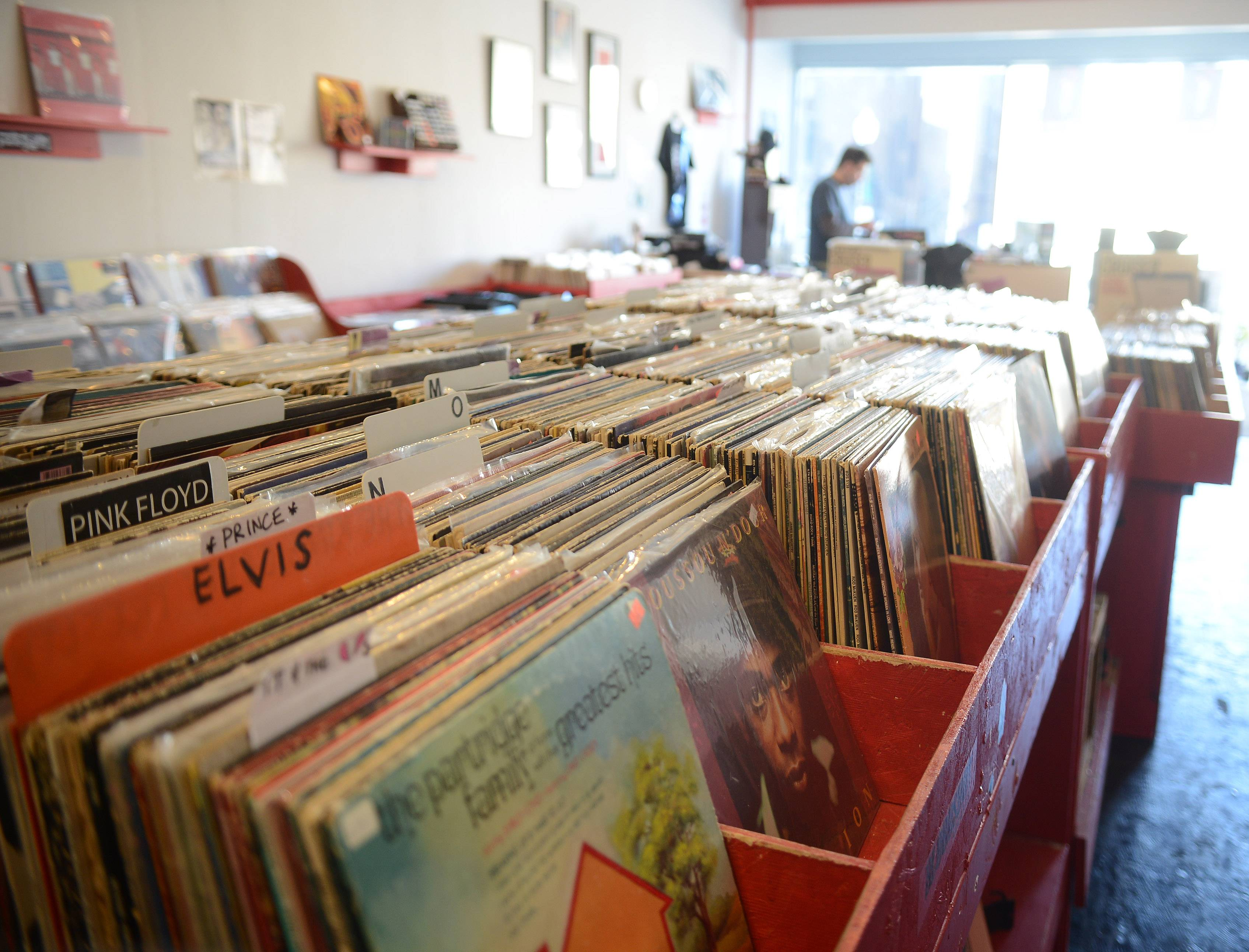 Rediscover Records in Elgin is among the hundreds of stores across the country taking part in Saturday's Record Store Day. The annual event allows retailers to sell exclusive records, CDs and T-shirts not available anywhere else.