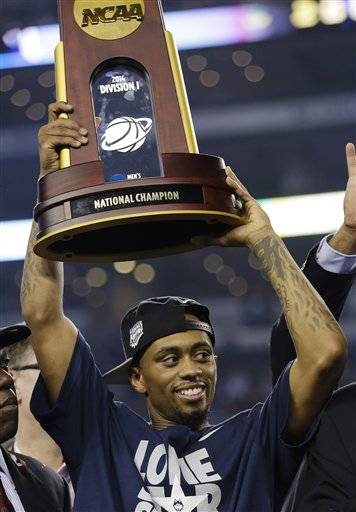 The city of Aurora plans a ceremony to honor University of Connecticut champion basketball player Ryan Boatright. The welcome-home ceremony is planned for Saturday at the Paramount Theatre. Boatright is a member of the Huskies team that won the NCAA tournament over Kentucky last week. He's a graduate of East Aurora High School.