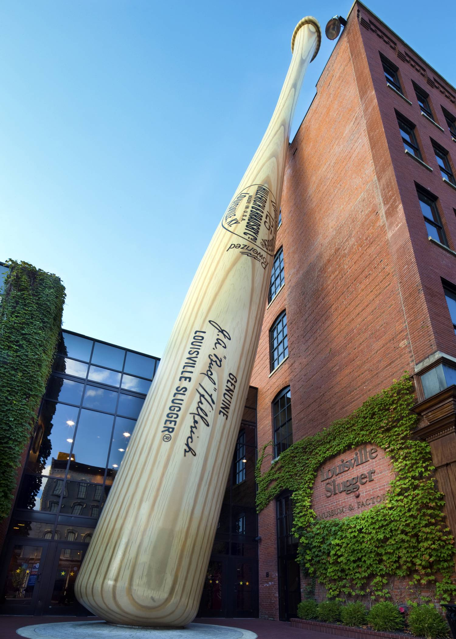 Visitors can trace baseball heritage along the Louisville Slugger Walk of Fame, stretching about a mile from the Louisville Slugger Museum & Factory to the city's minor-league ballpark in Louisville, Ky.