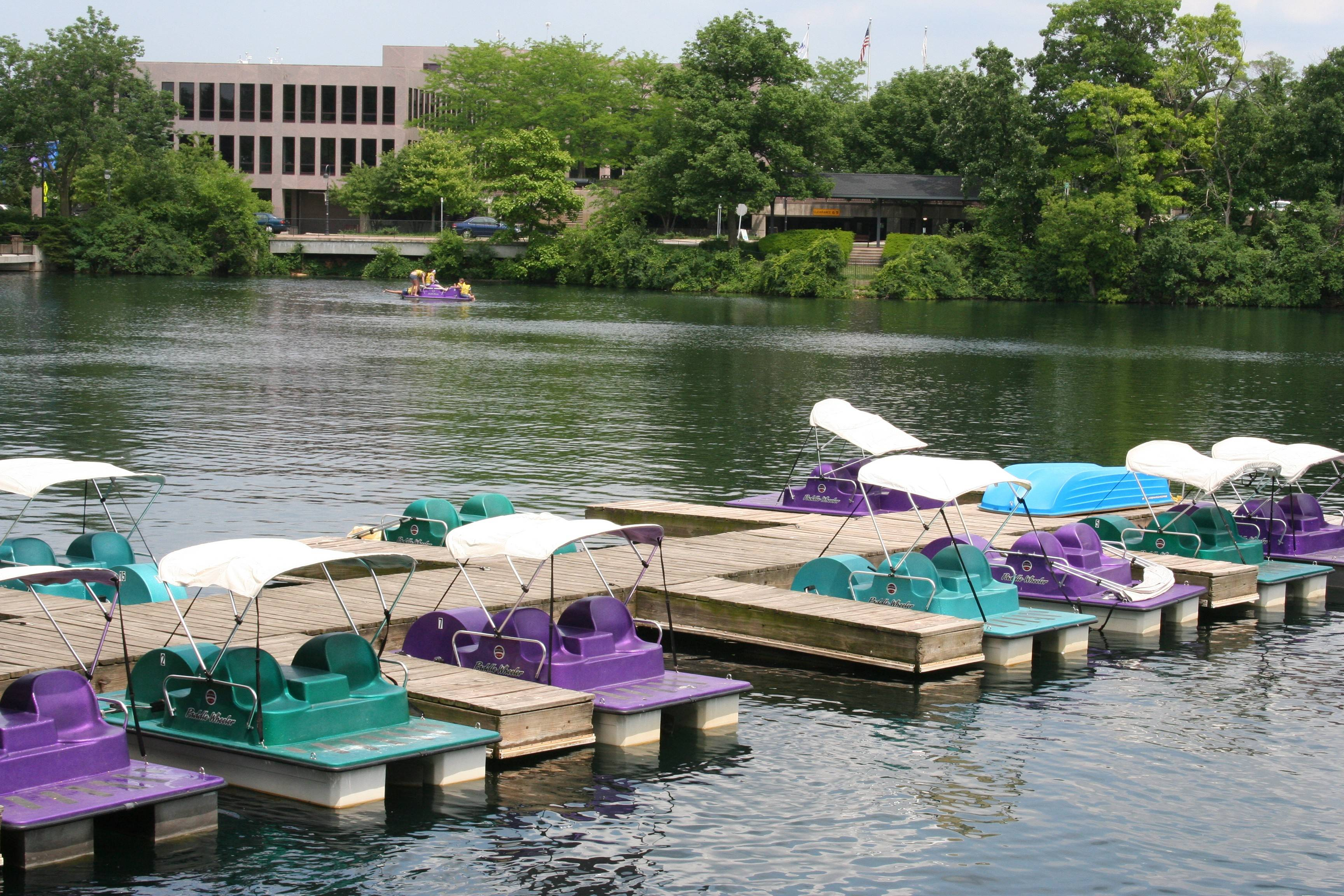 Naperville Park District will offer kayaking this summer — as well as the traditional paddleboat rentals — in the Paddleboat Quarry along the downtown Riverwalk near Eagle Street.
