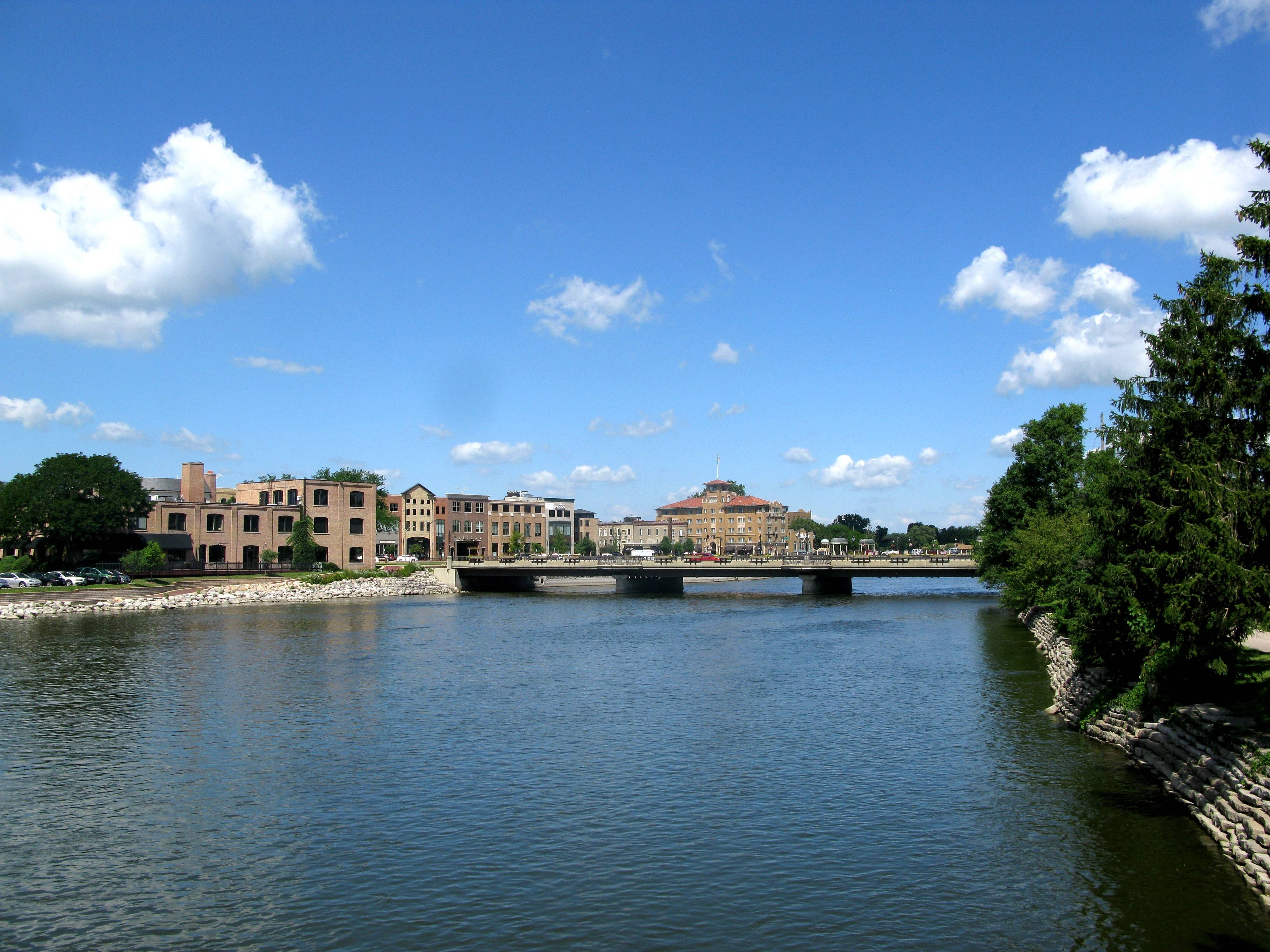 St. Charles has had some iconic success along its portion of the Fox River. The Hotel Baker and part of a major downtown development called First Street are the major, non-festival river draws for the business area.
