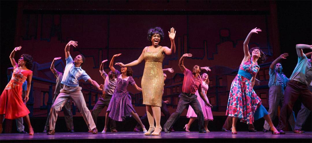 "Saycon Sengbloh performed as Martha Reeves singing ""Dancin' in the Streets"" in the 2013 Broadway production of ""Motown The Musical."" The national tour of the hit musical launches in Chicago at the Oriental Theatre for a 12-week run starting Tuesday, April 22."