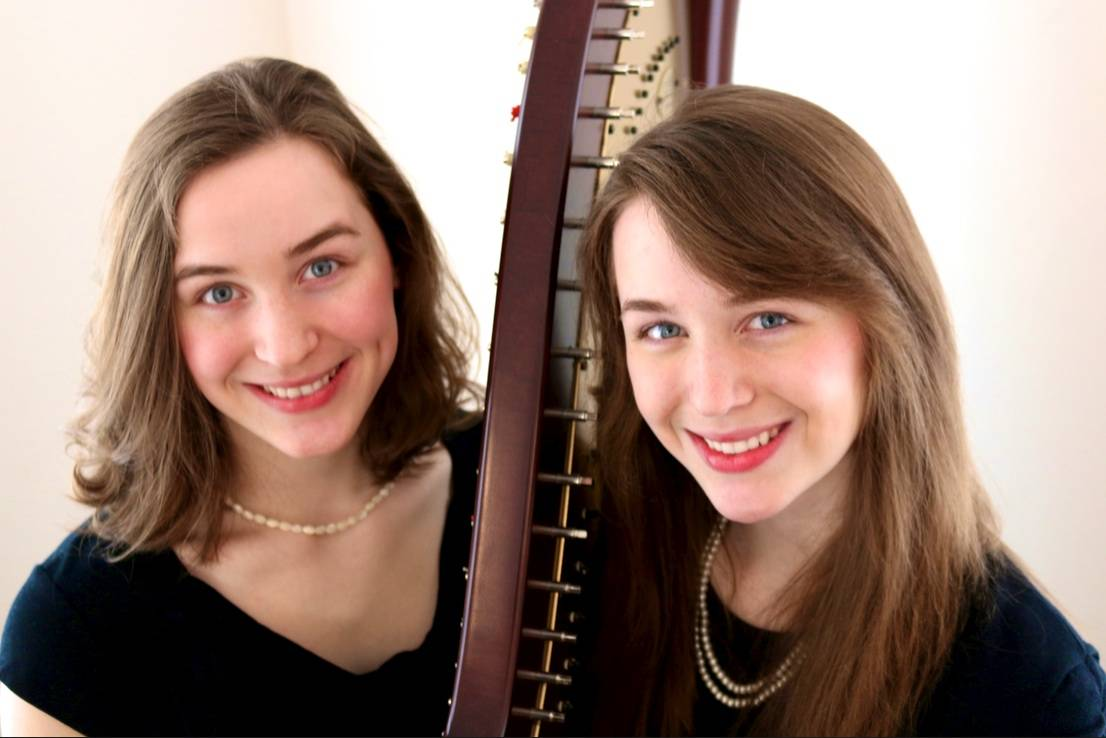 The Fiedler Twin Harps will provide entertainment at this year's House Walk Tea on Sunday, June 8.Fiedler Family