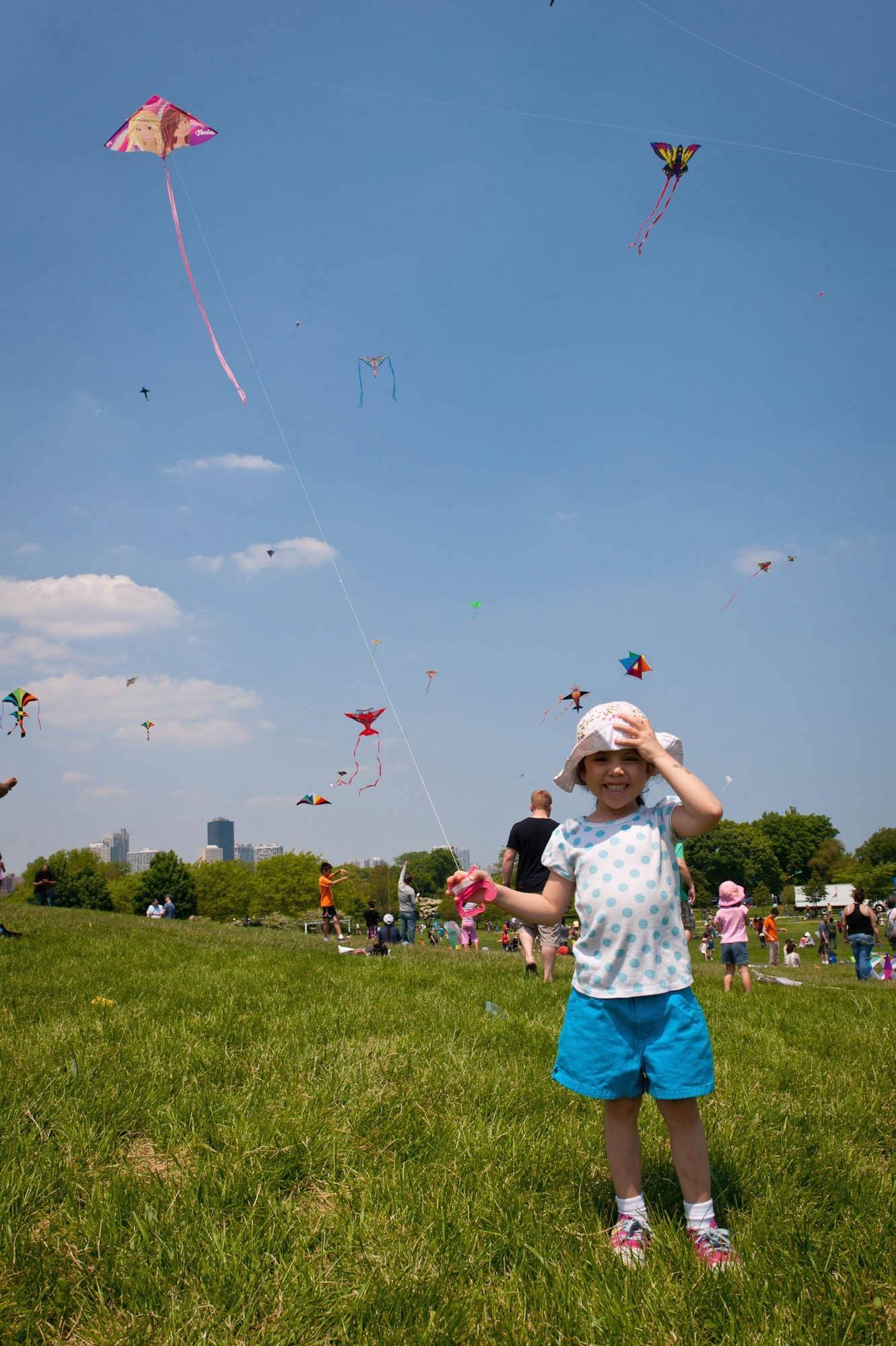 Take the family to the 16th Annual Chicago Kids and Kites Festival at Montrose Harbor May 3.