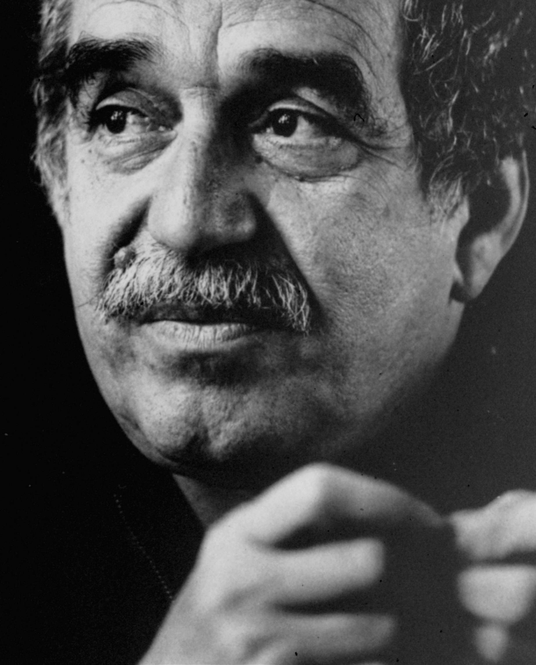 ALTERNATIVE CROP OF XLAT301 - FILE - This undated file photo of Colombian Nobel laureate Gabriel Garcia Marquez is seen in an unknown location. Marquez died Thursday April 17, 2014 at his home in Mexico City. Garcia Marquez's magical realist novels and short stories exposed tens of millions of readers to Latin America's passion, superstition, violence and inequality. (AP Photo/Hamilton, File)