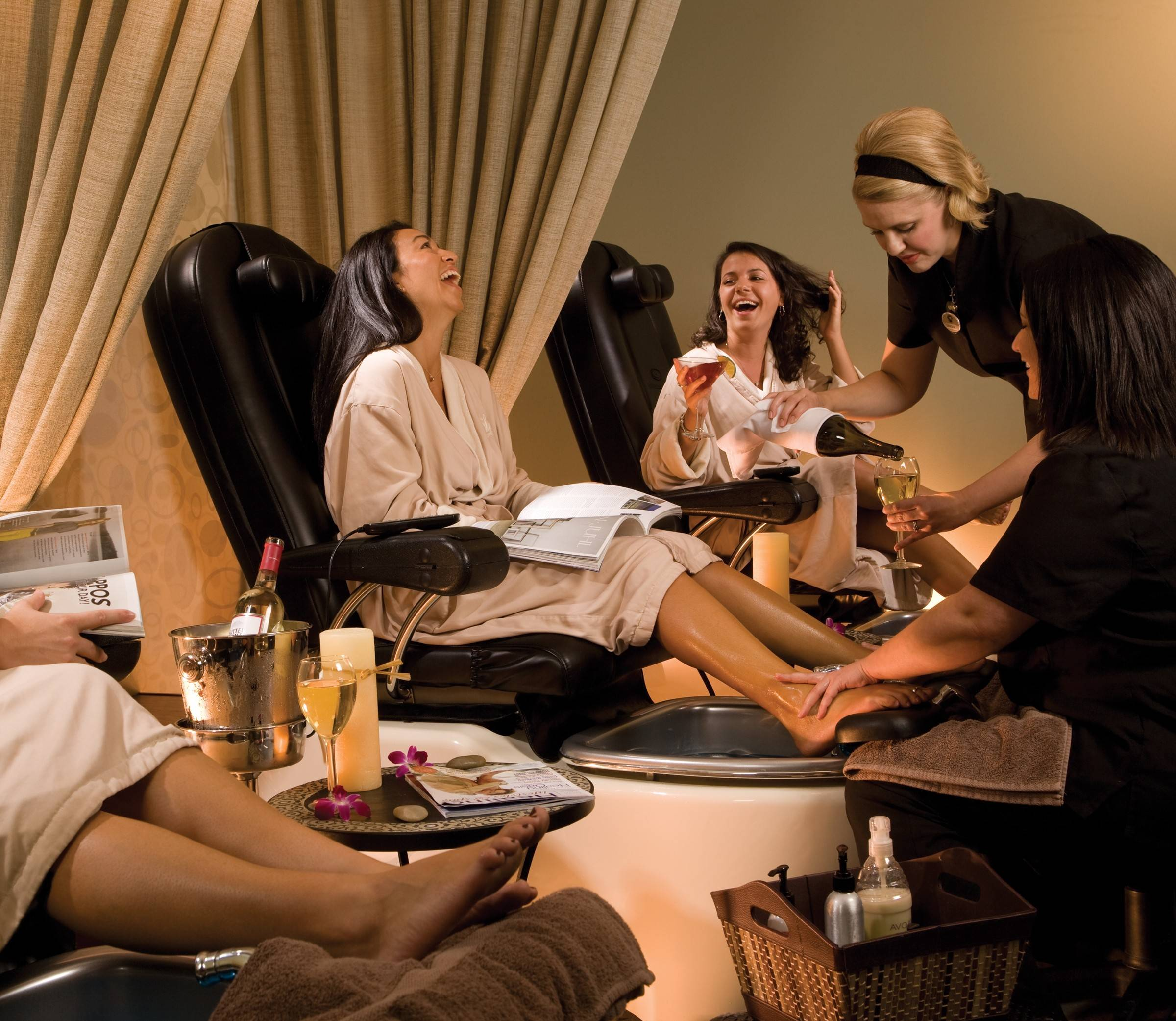 The VIP Spa & Wine Weekend Package at Grand Traverse Resort & Spa in Michigan is a great spring getaway for couples and friends.