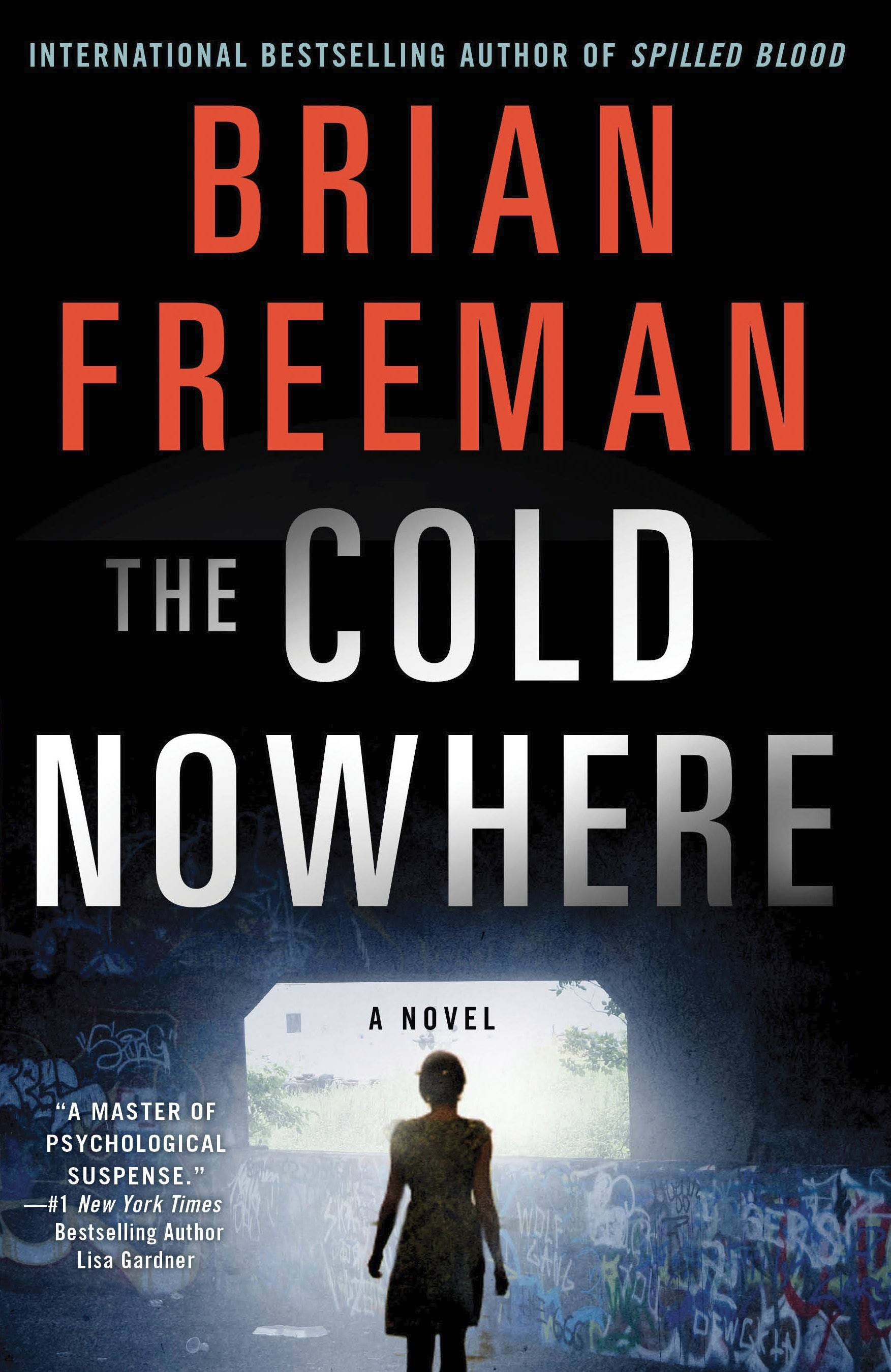 "Author Brian Freeman discusses ""The Cold Nowhere"" the Vernon Area Public Library District in Lincolnshire Thursday, April 24."
