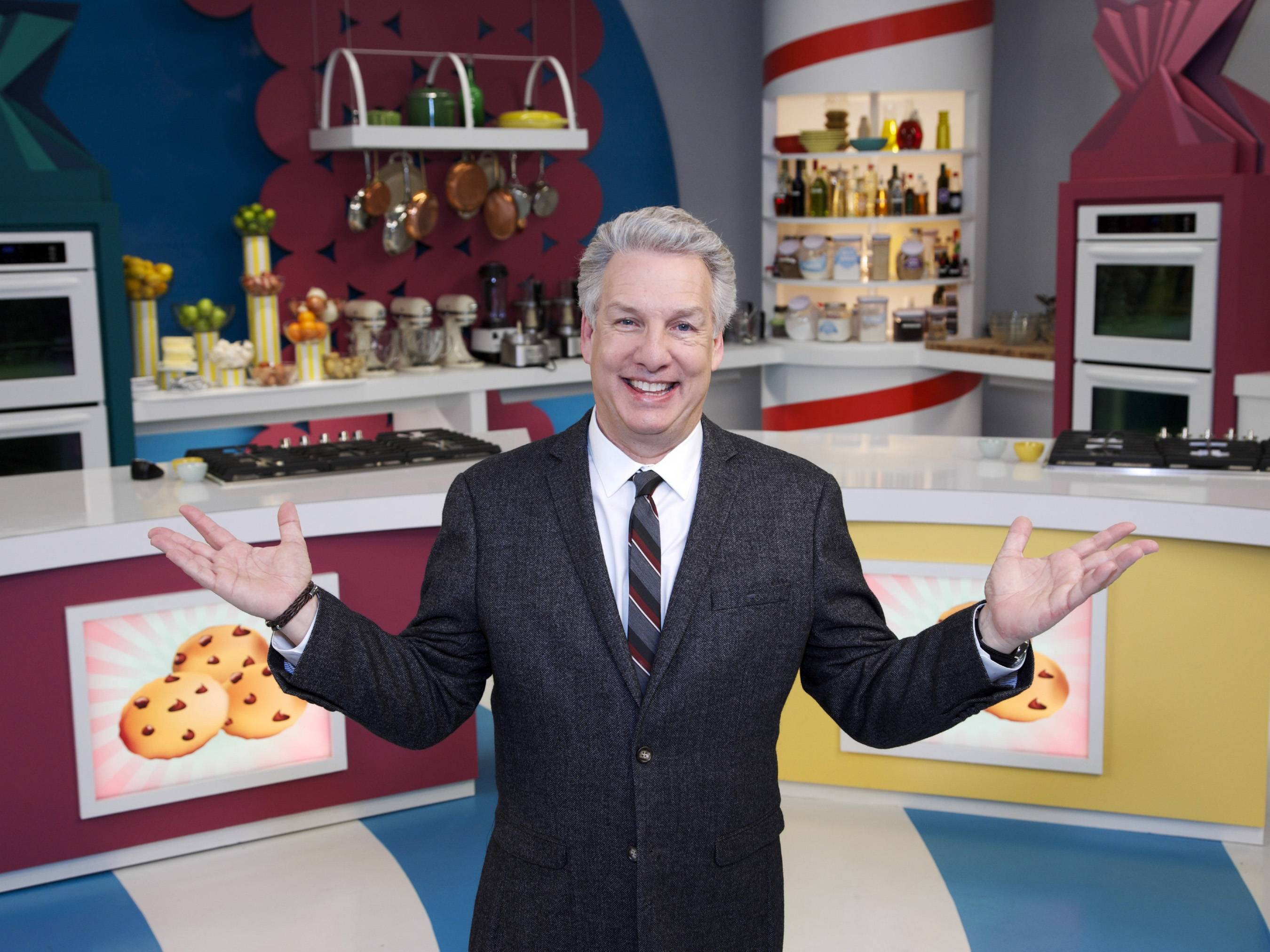 "Marc Summers, the host of ""Unwrapped,"" is one of three judges on the new reality TV show ""Rewrapped,"" in which three chefs create their version of famous snacks with a twist. The show debuts April 21 on Food Network with host Joey Fatone."