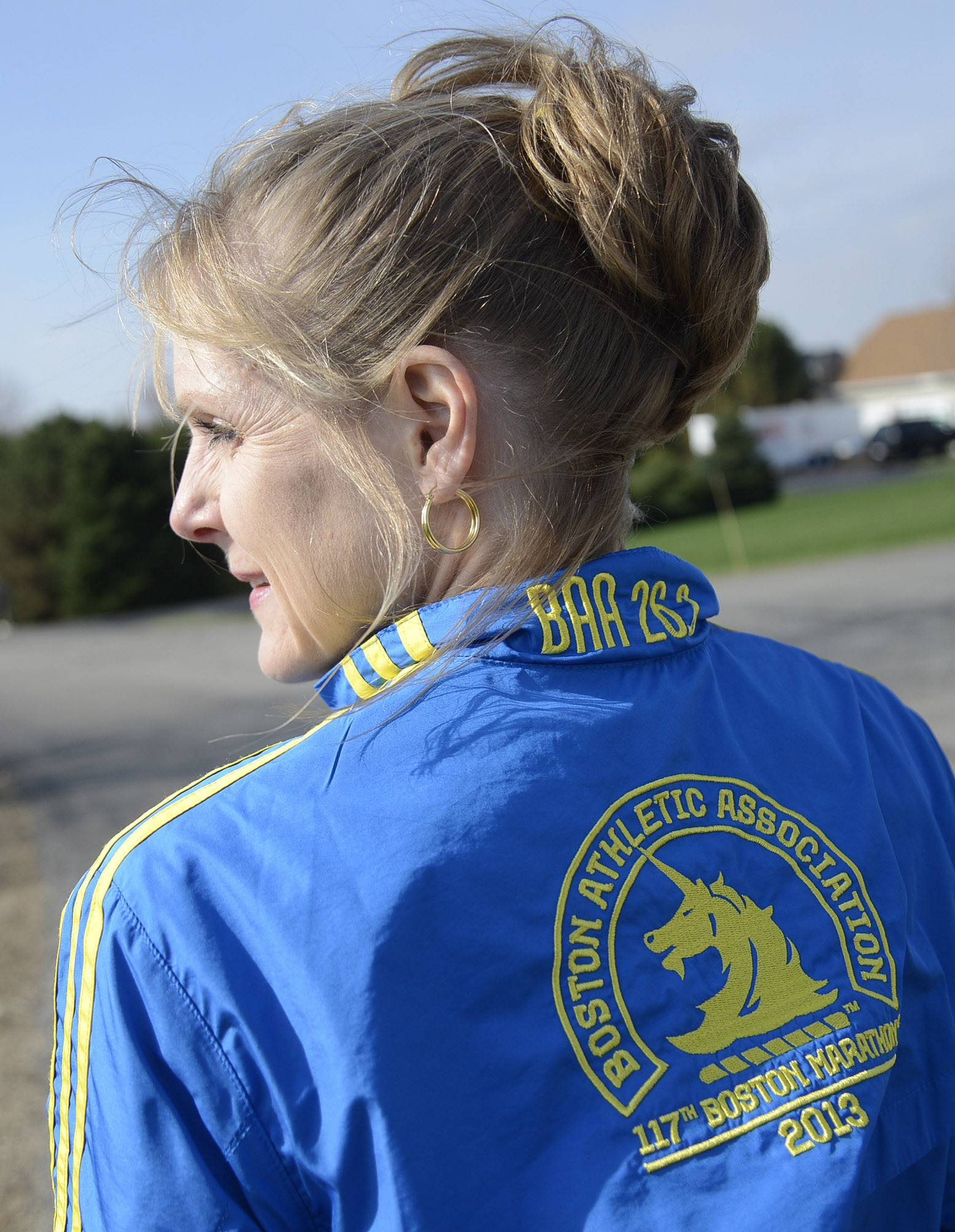 Burlington runner recounts 'chaotic' Boston Marathon experience
