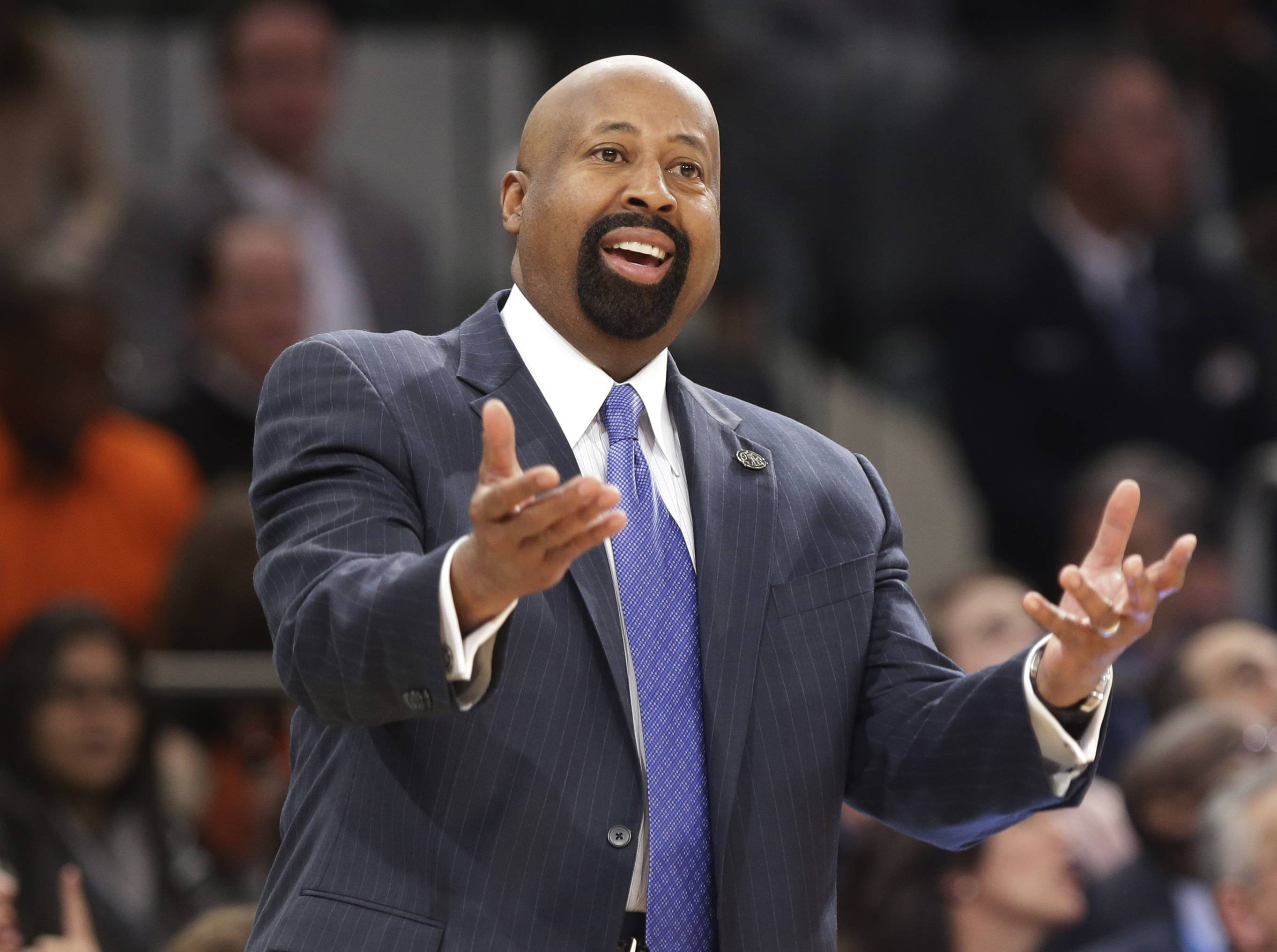 New York Knicks head coach Mike Woodson was fired Monday.