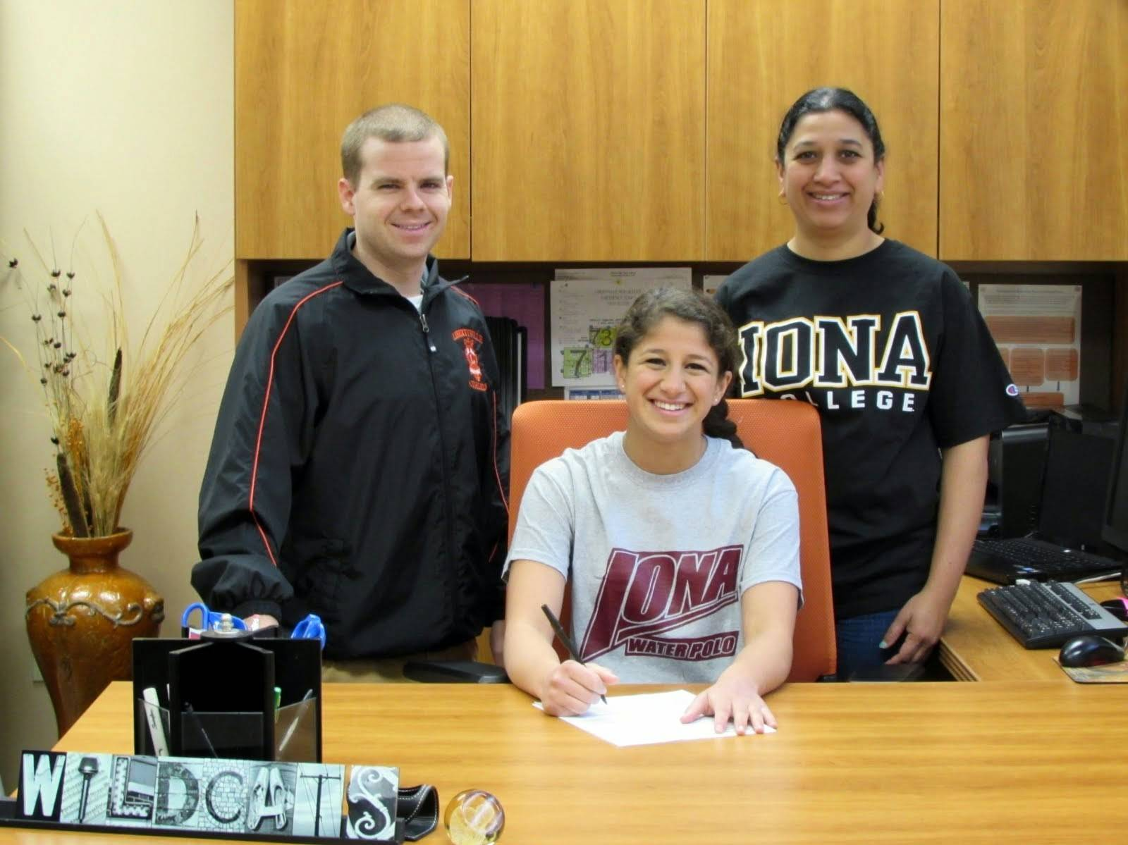 Devika Joshi of Libertyville is committed to play water polo at Iona.
