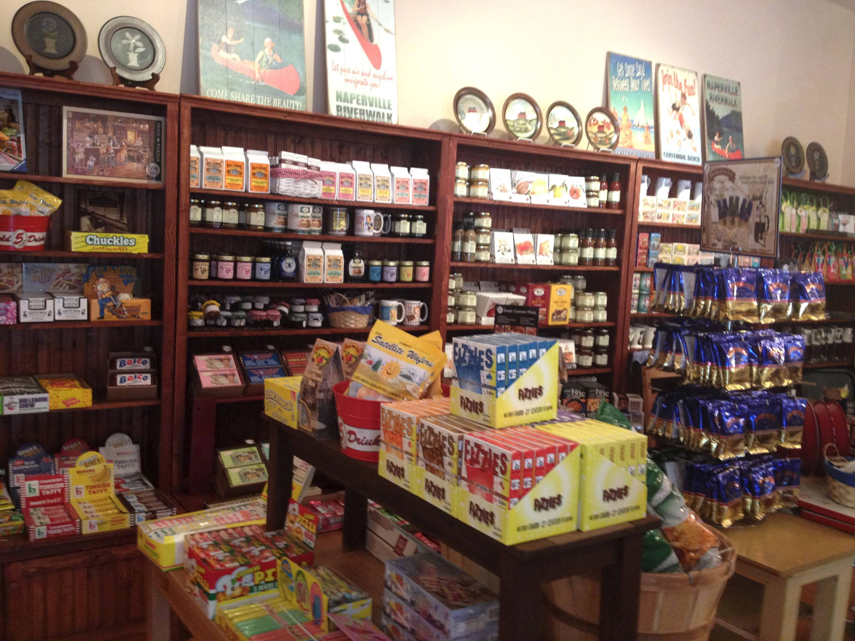 Glenn and Debra Anton are the owners of Naperville General Store in downtown Naperville.