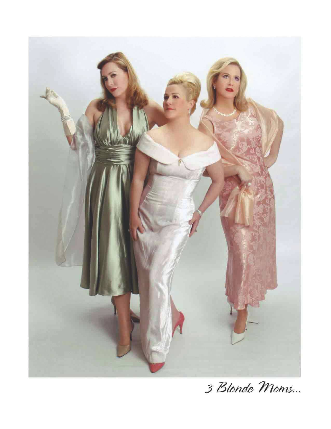 The comedy troupe 3 Blonde Moms performs at the Raue Center for the Arts in Crystal Lake on Friday, April 25.