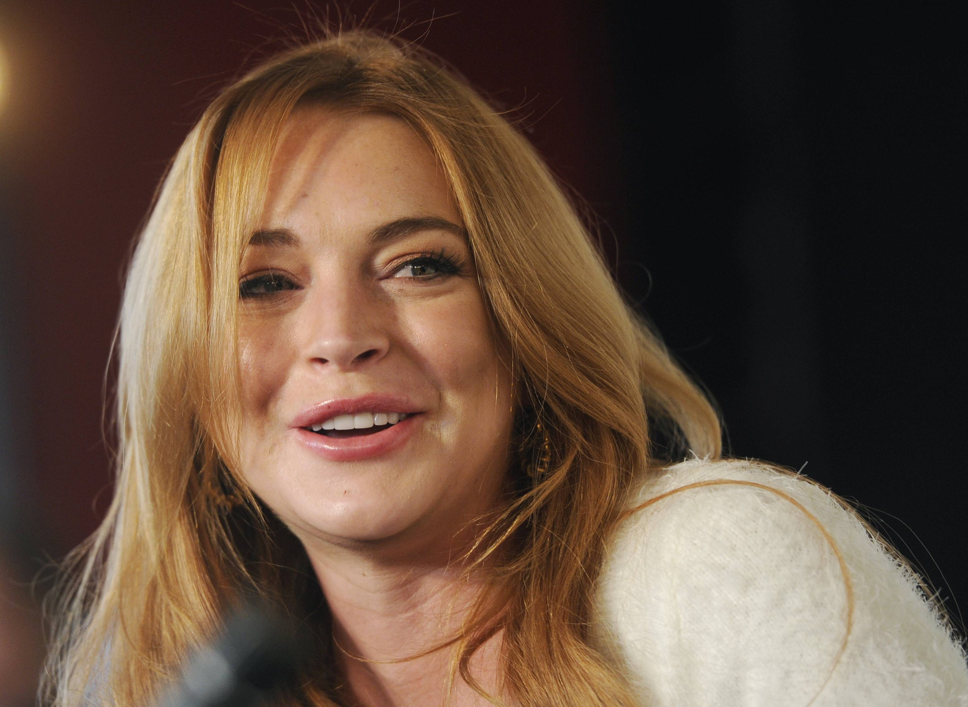 "During Sunday's final episode of ""Lindsay,"" Lindsay Lohan says she suffered a miscarriage during the taping her OWN cable channel reality TV series."
