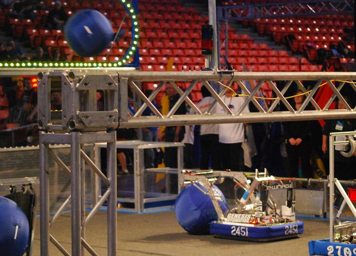 A team of 25 Fox Valley area high school students will compete in the FIRST Robotics World Finals this week in St. Louis.